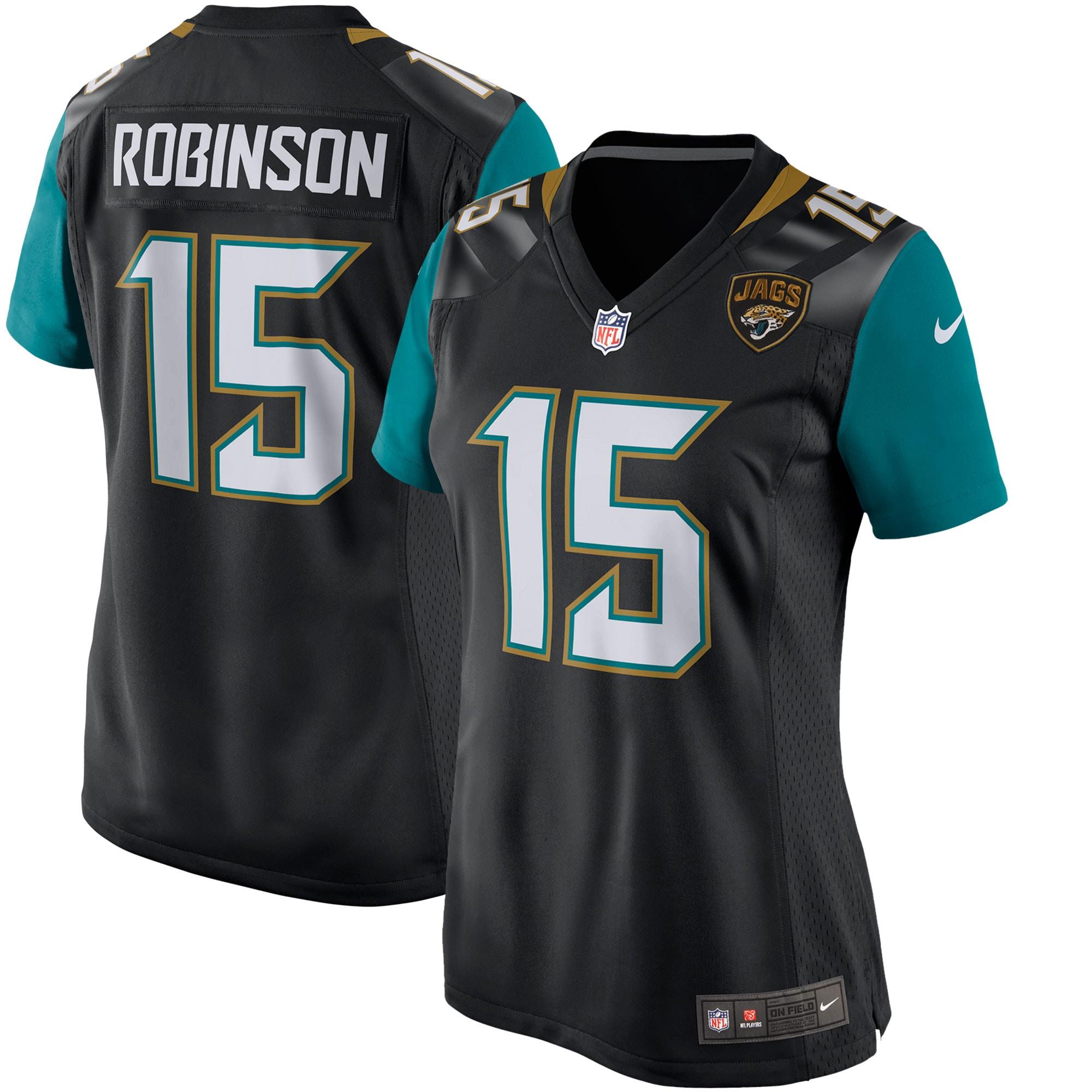 Allen Robinson Jacksonville Jaguars Nike Women's Game Jersey - Black