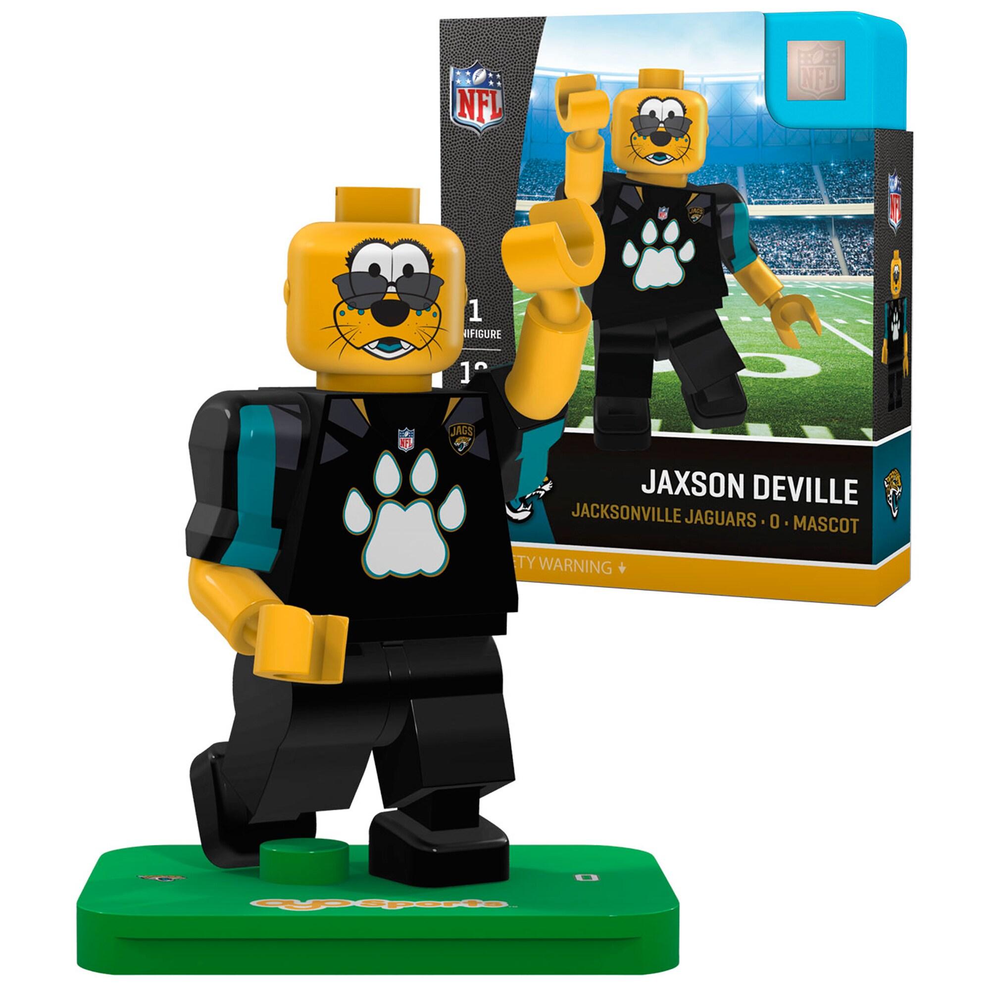 Jaxson DeVille Jacksonville Jaguars OYO Sports Generation 5 Mascot Minifigure