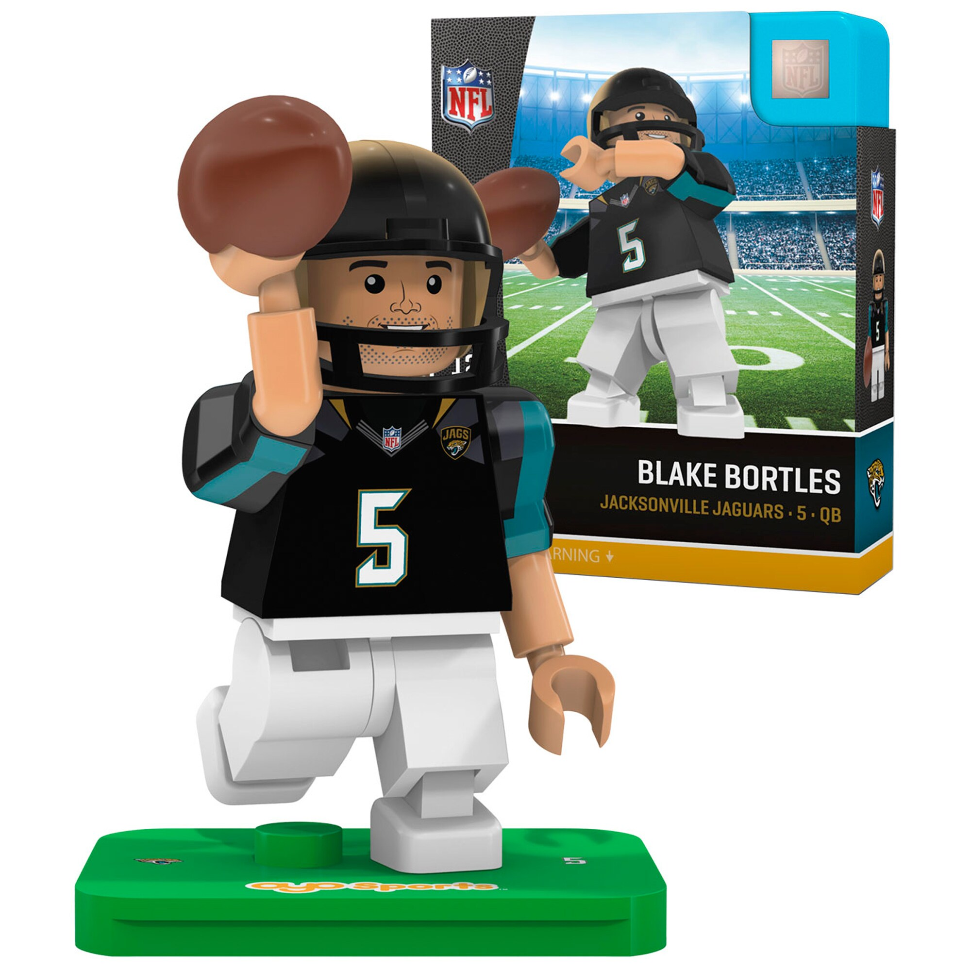 Blake Bortles Jacksonville Jaguars OYO Sports 2016 Player Minifigure