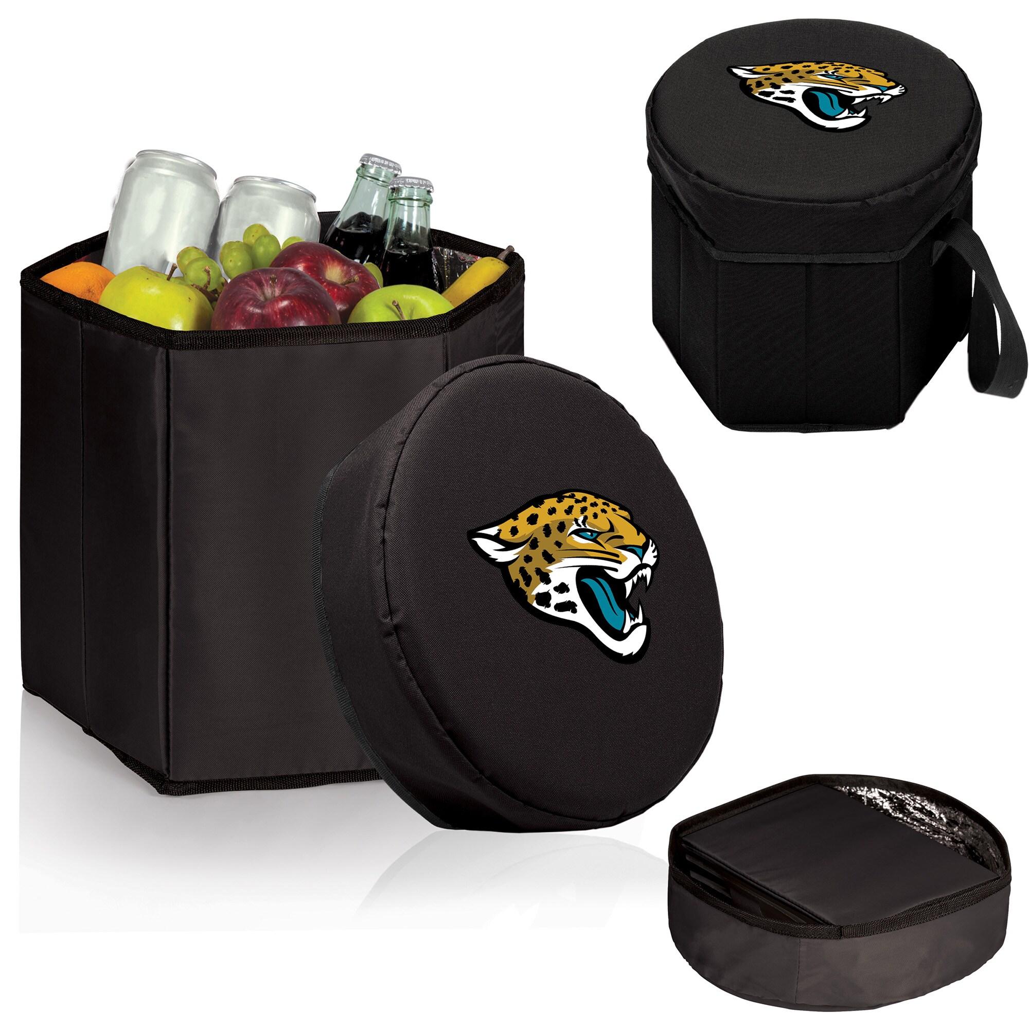 Jacksonville Jaguars 12 Quart Bongo Cooler - Black