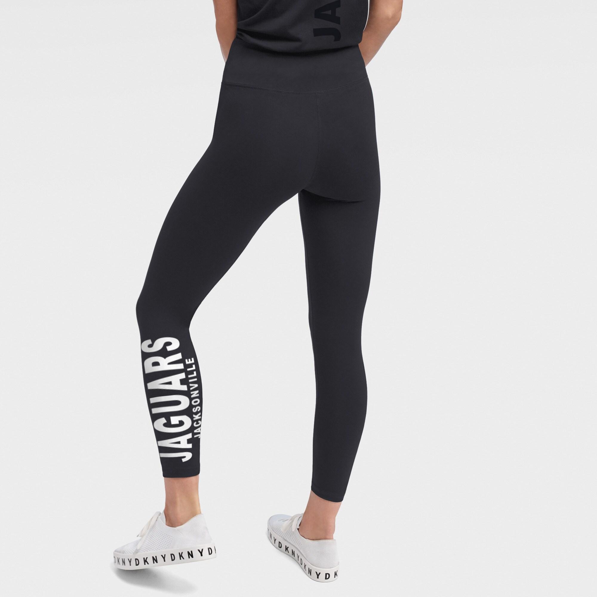 Jacksonville Jaguars DKNY Sport Women's Zen Leggings - Black