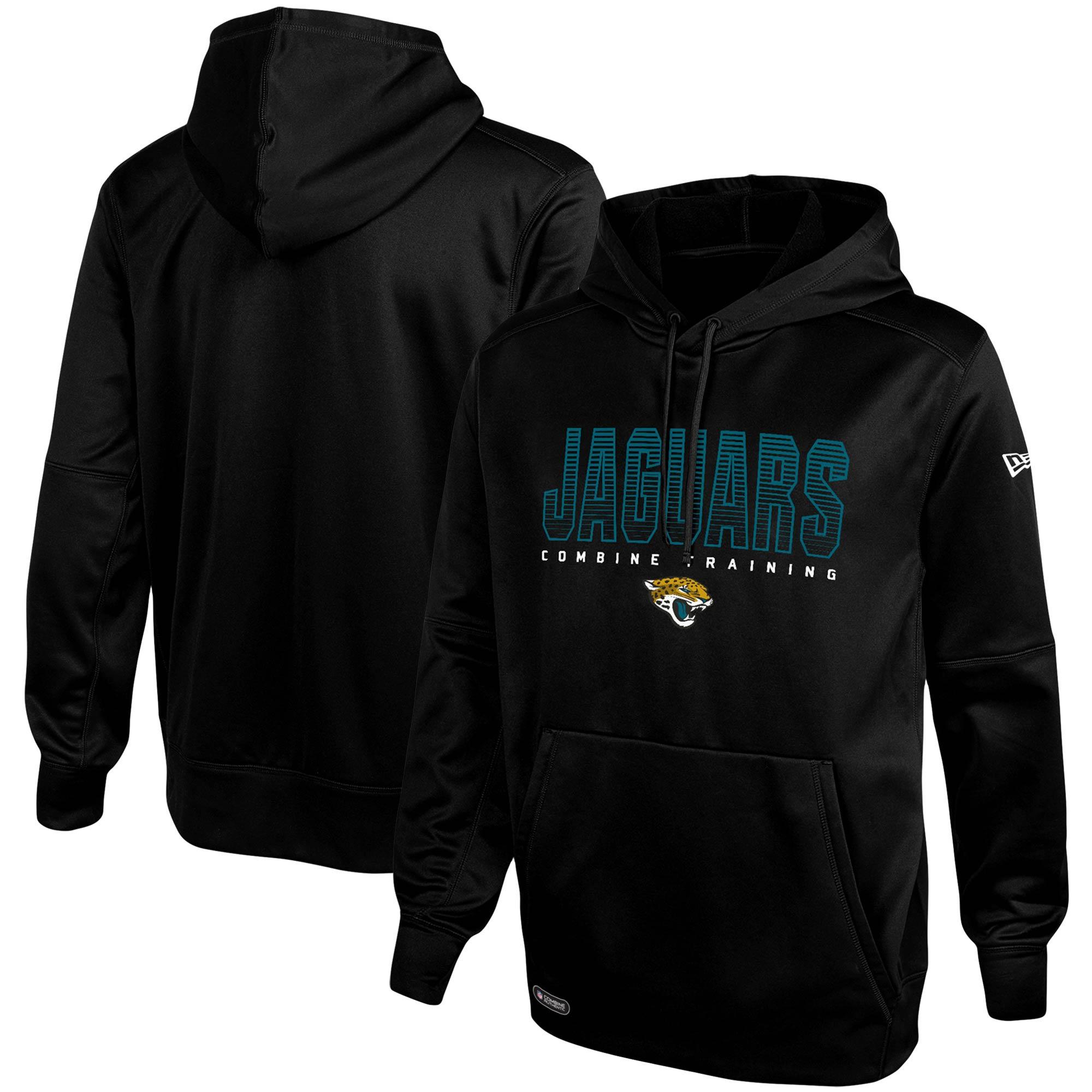 Jacksonville Jaguars New Era Combine Team Pride Pullover Hoodie - Black
