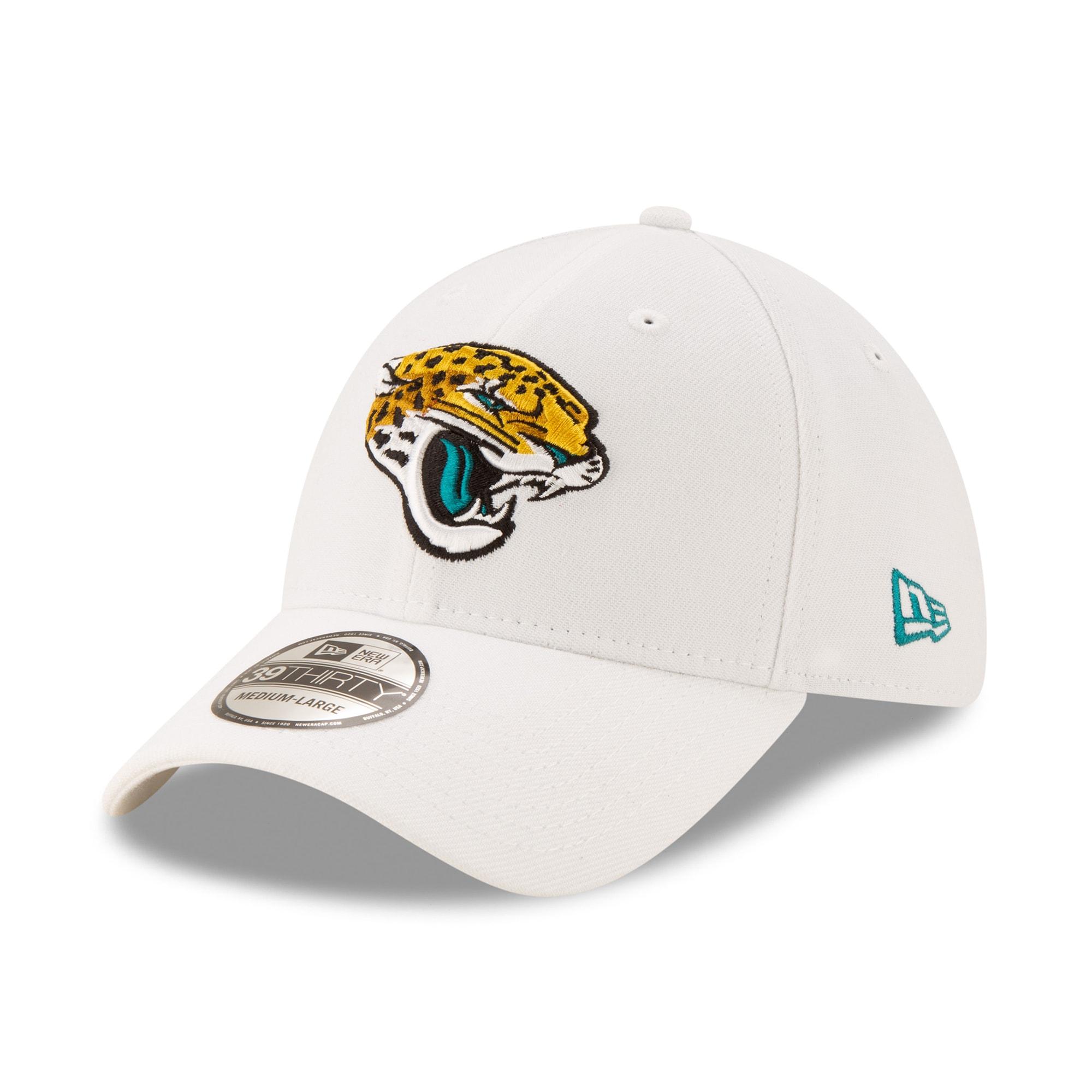 Jacksonville Jaguars New Era Iced 39THIRTY Flex Hat - White