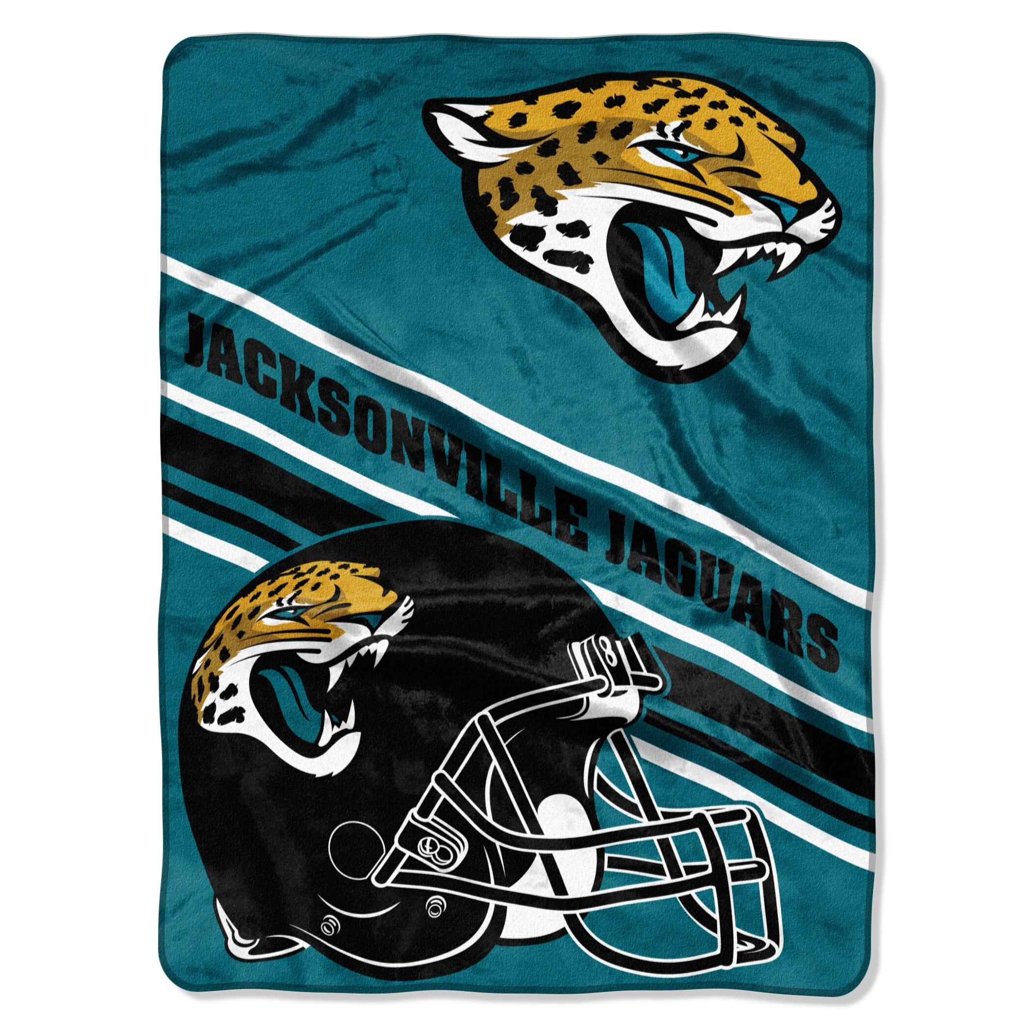 Jacksonville Jaguars The Northwest Company 60'' x 80'' Slant Rashcel Throw