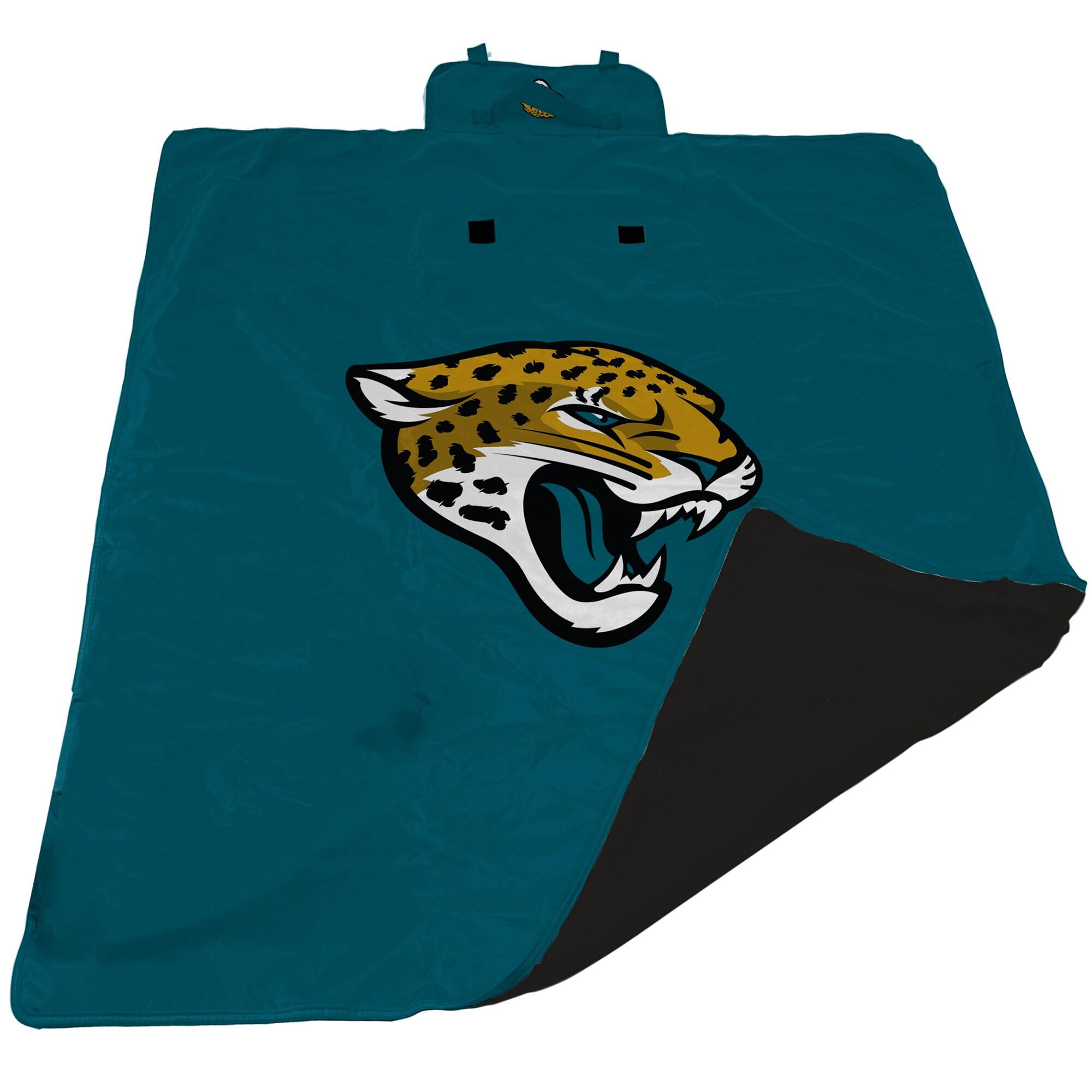 Jacksonville Jaguars 60'' x 80'' All-Weather XL Outdoor Blanket - Teal