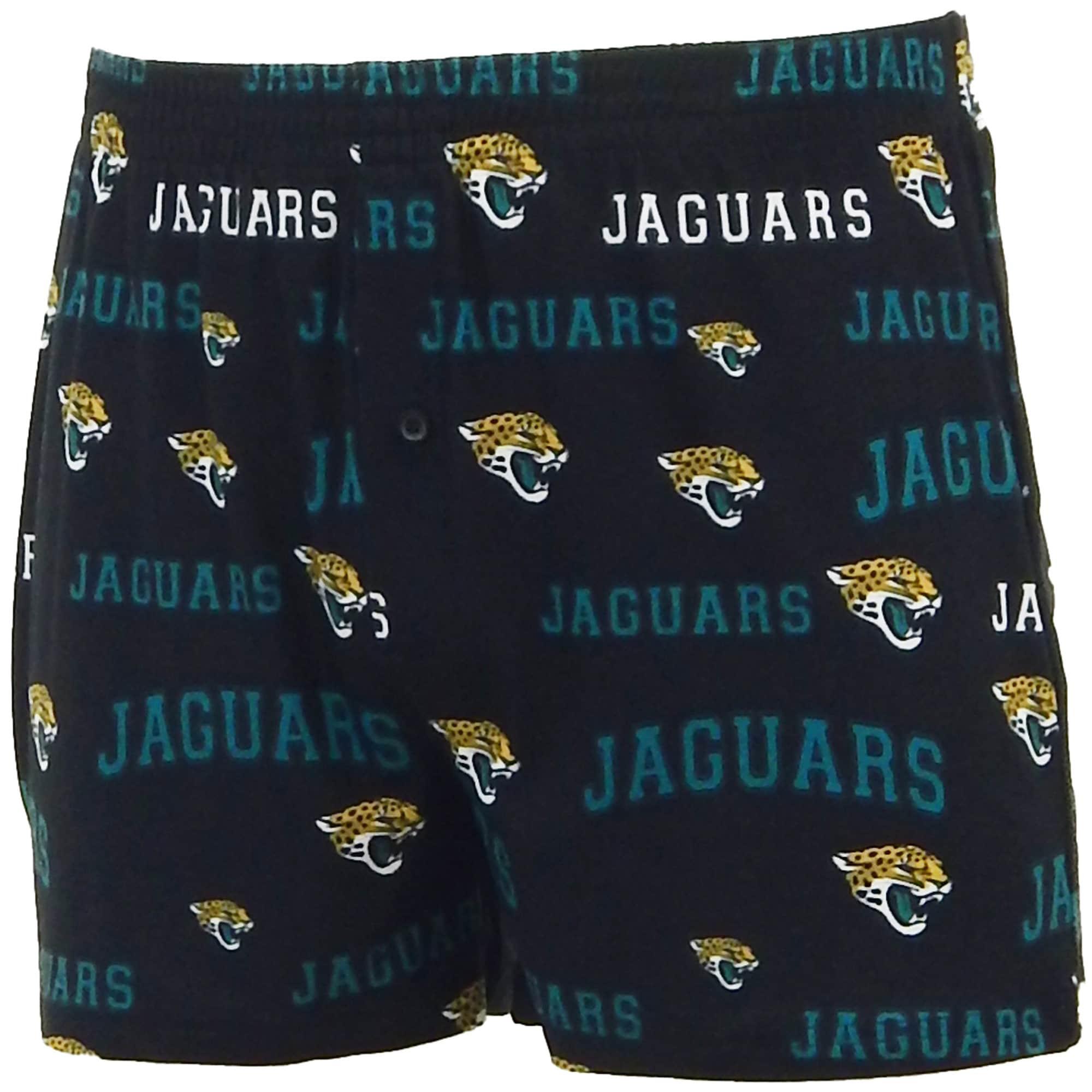Jacksonville Jaguars Concepts Sport Fairway Boxers - Black