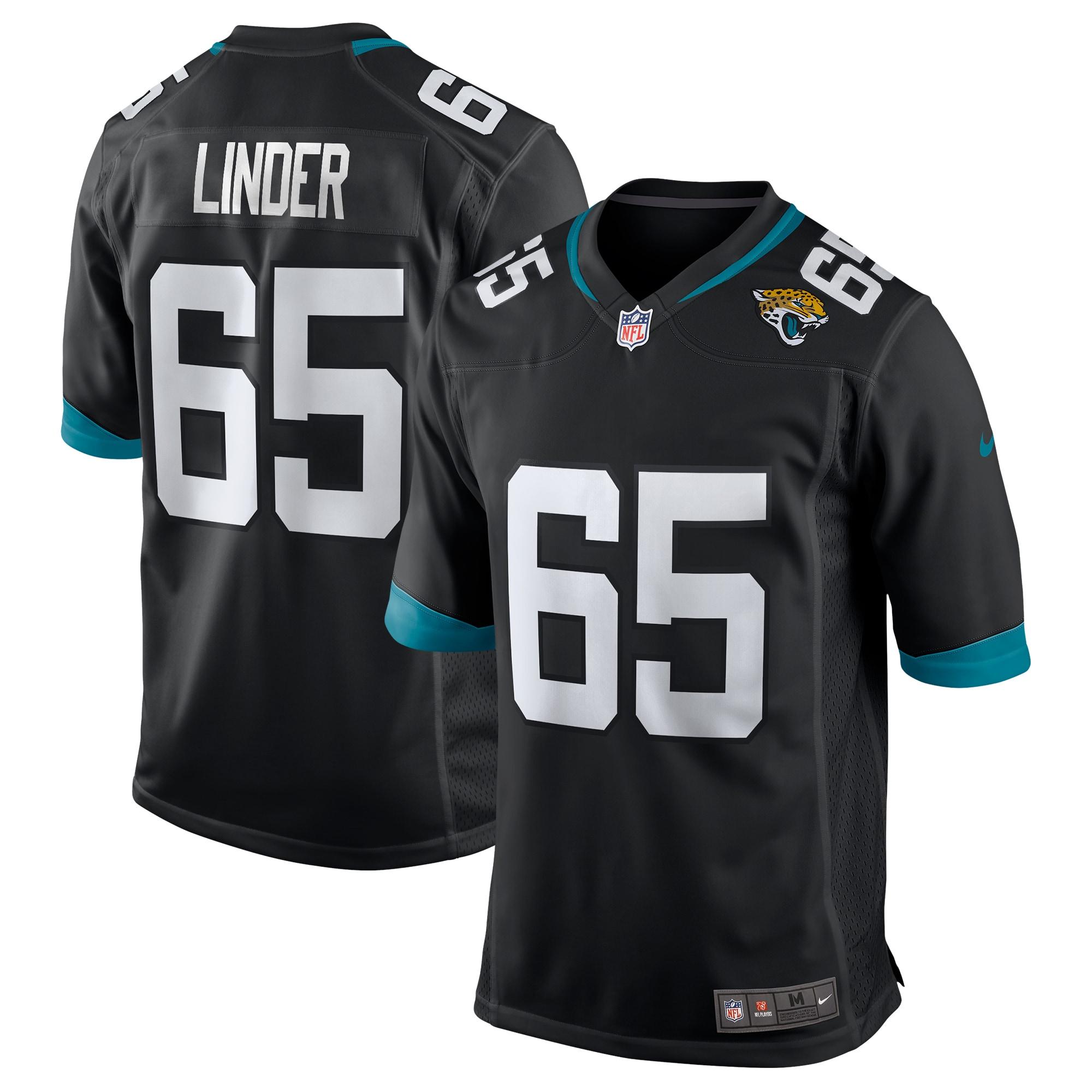 Brandon Linder Jacksonville Jaguars Nike Game Jersey - Black