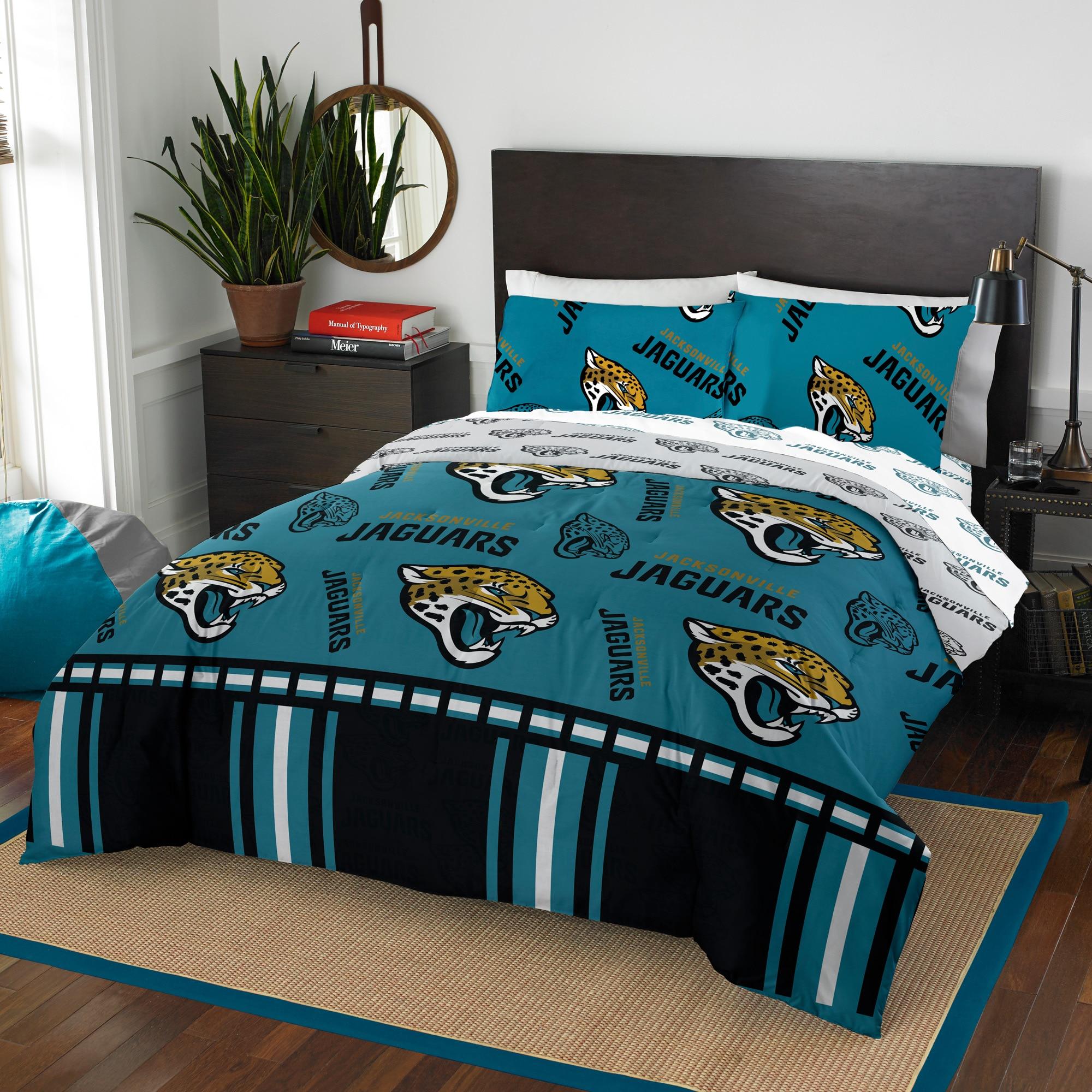 Jacksonville Jaguars The Northwest Company 5-Piece Full Bed in a Bag Set