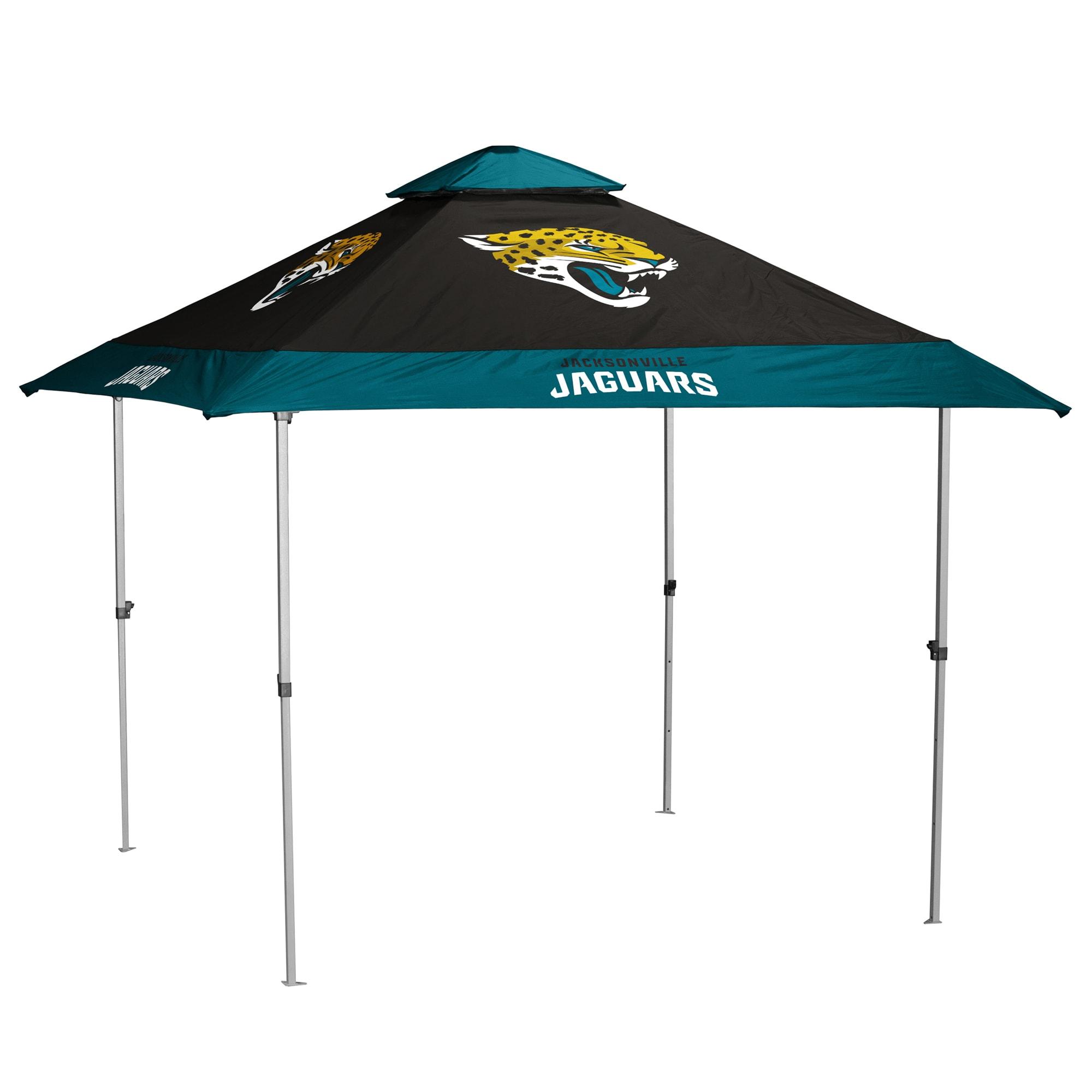 Jacksonville Jaguars 9' x 9' Pagoda Tailgate Canopy Tent