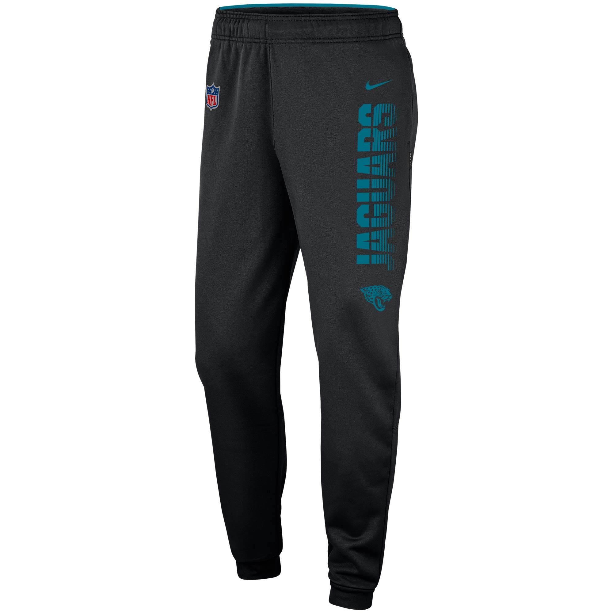 Jacksonville Jaguars Nike Team Logo Sideline Performance Pants - Black