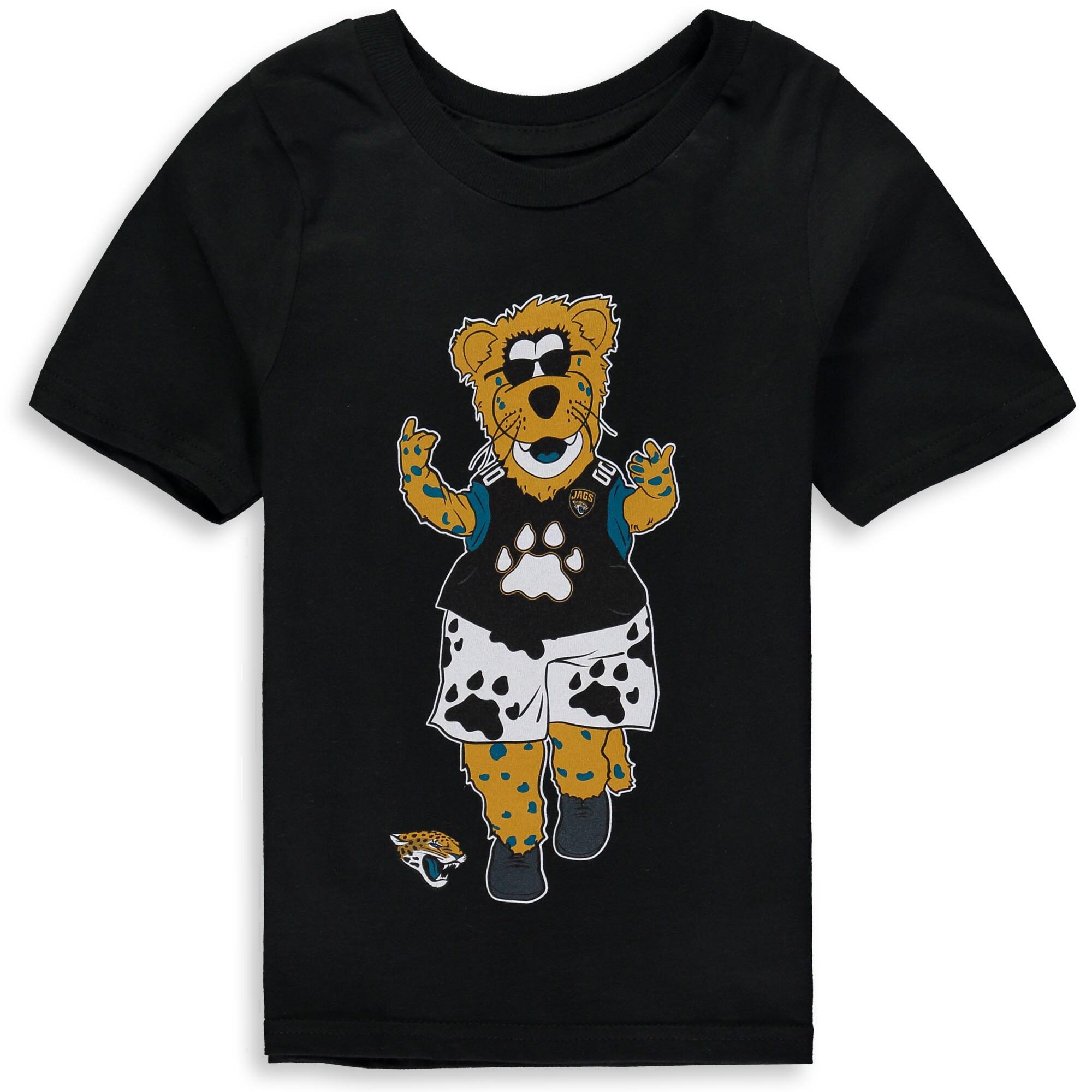 Jacksonville Jaguars Preschool Standing Mascot T-Shirt - Black