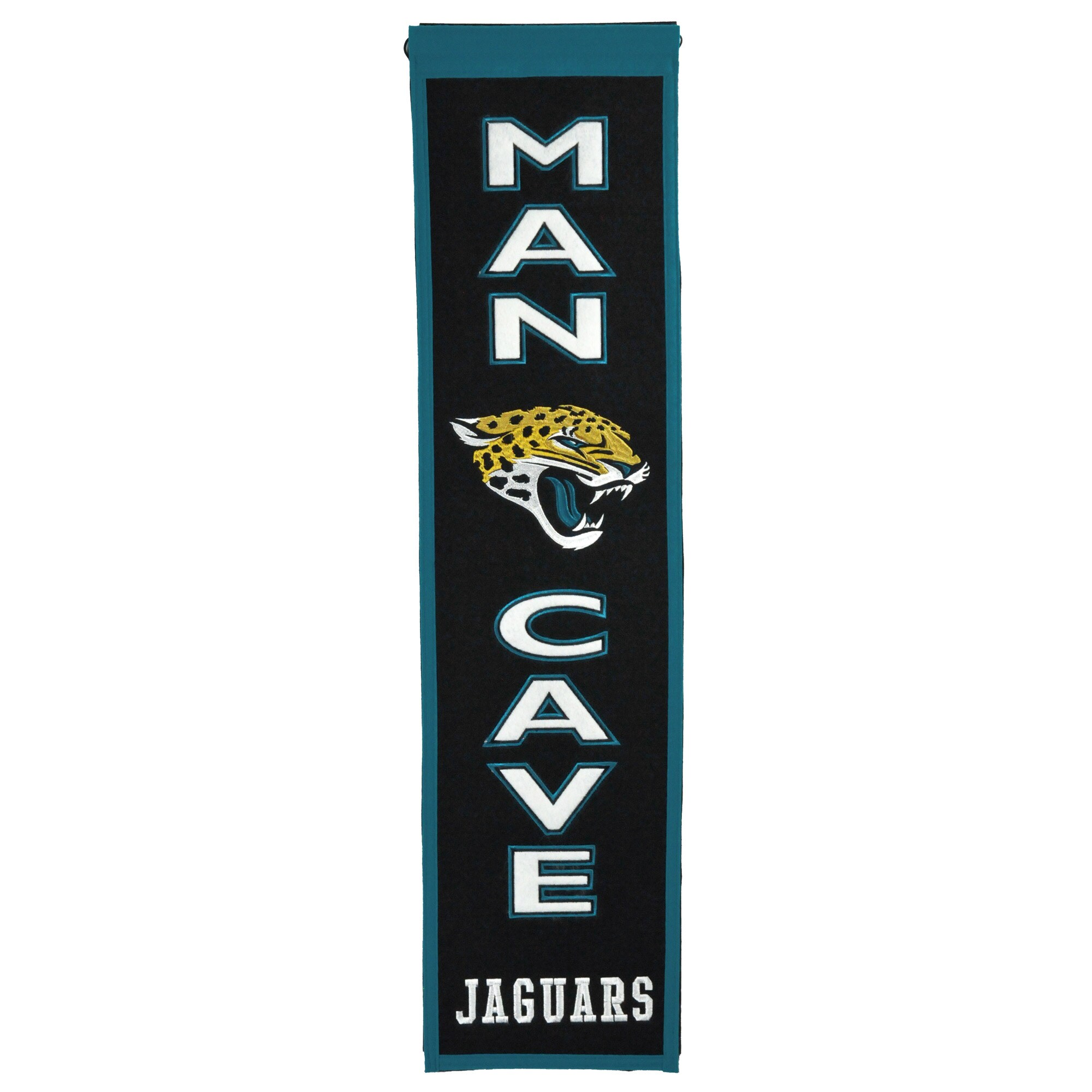 "Jacksonville Jaguars 8"" x 32"" Man Cave Banner"
