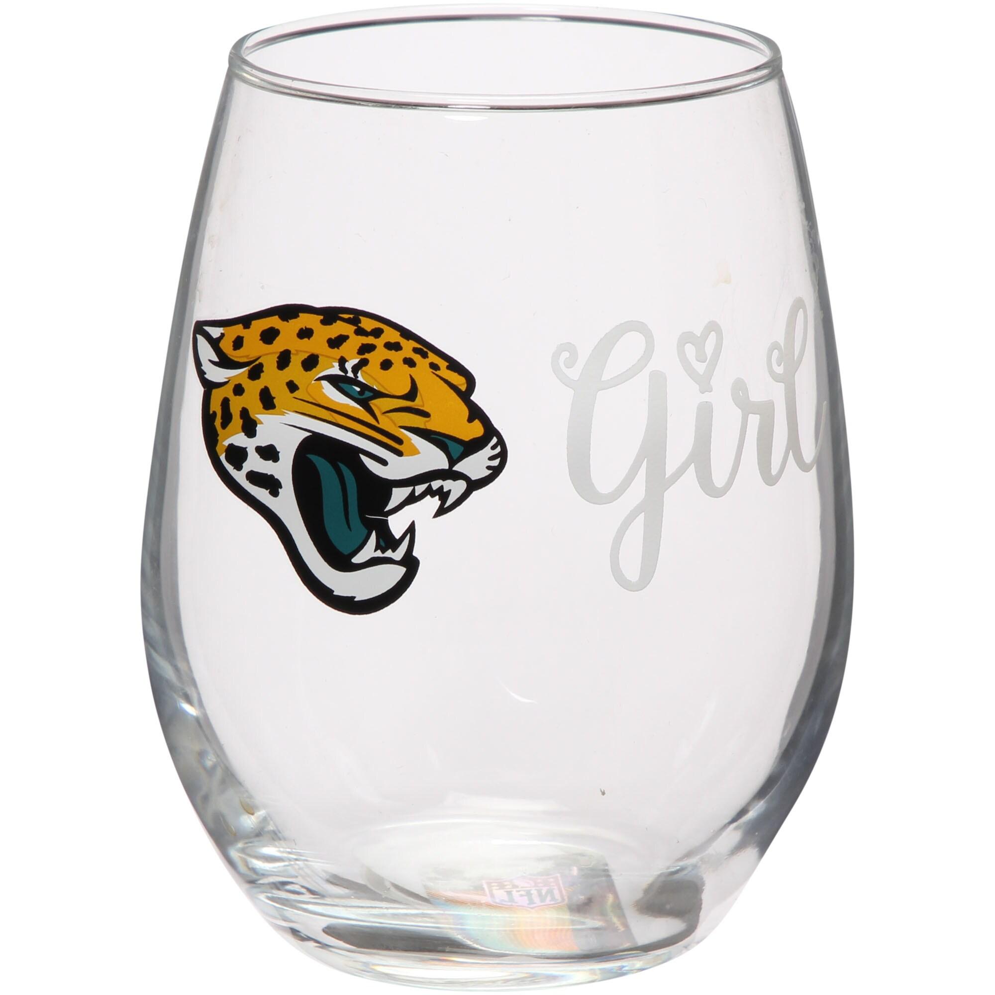 Jacksonville Jaguars 15oz. Girl Stemless Tumbler