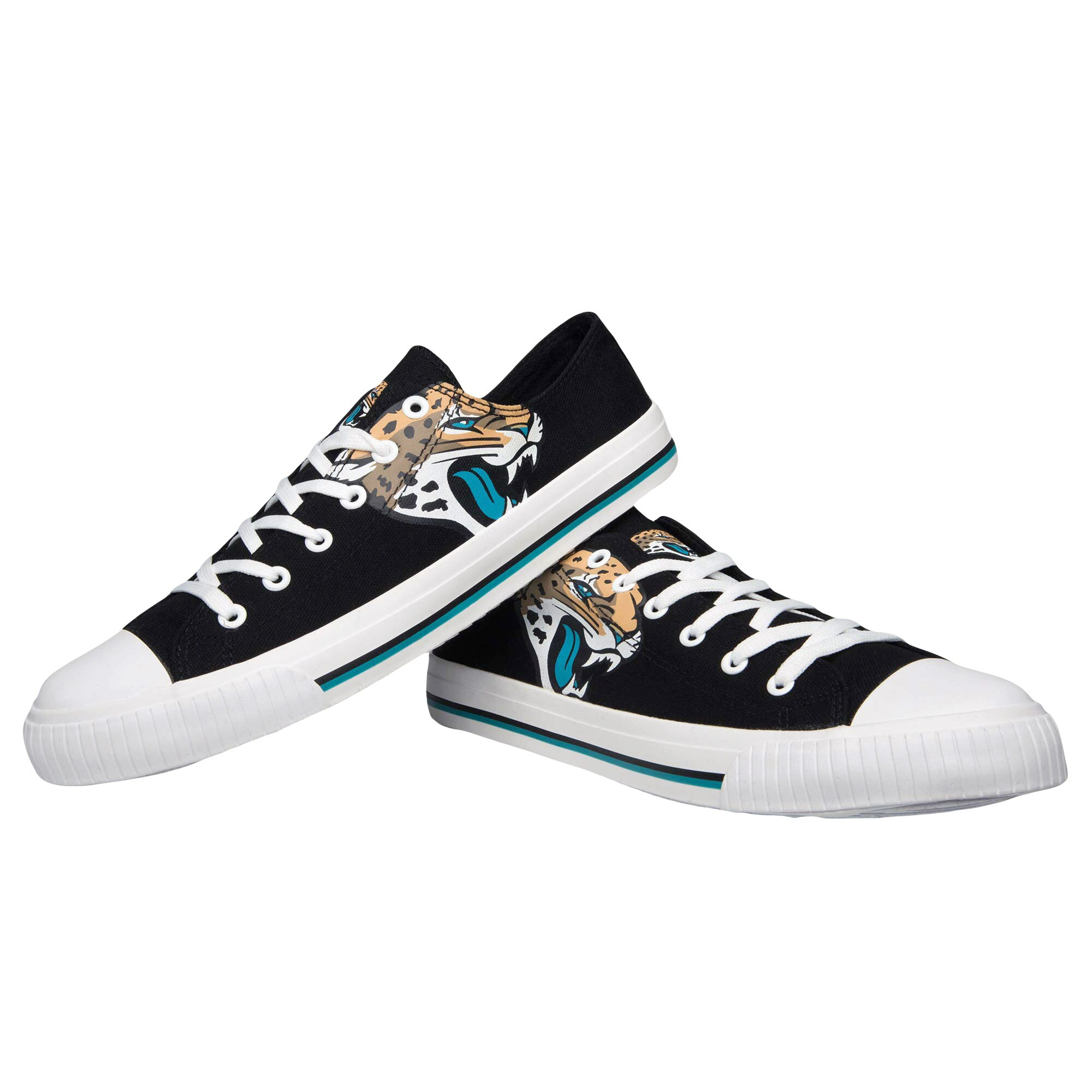 Jacksonville Jaguars Big Logo Low Top Sneakers