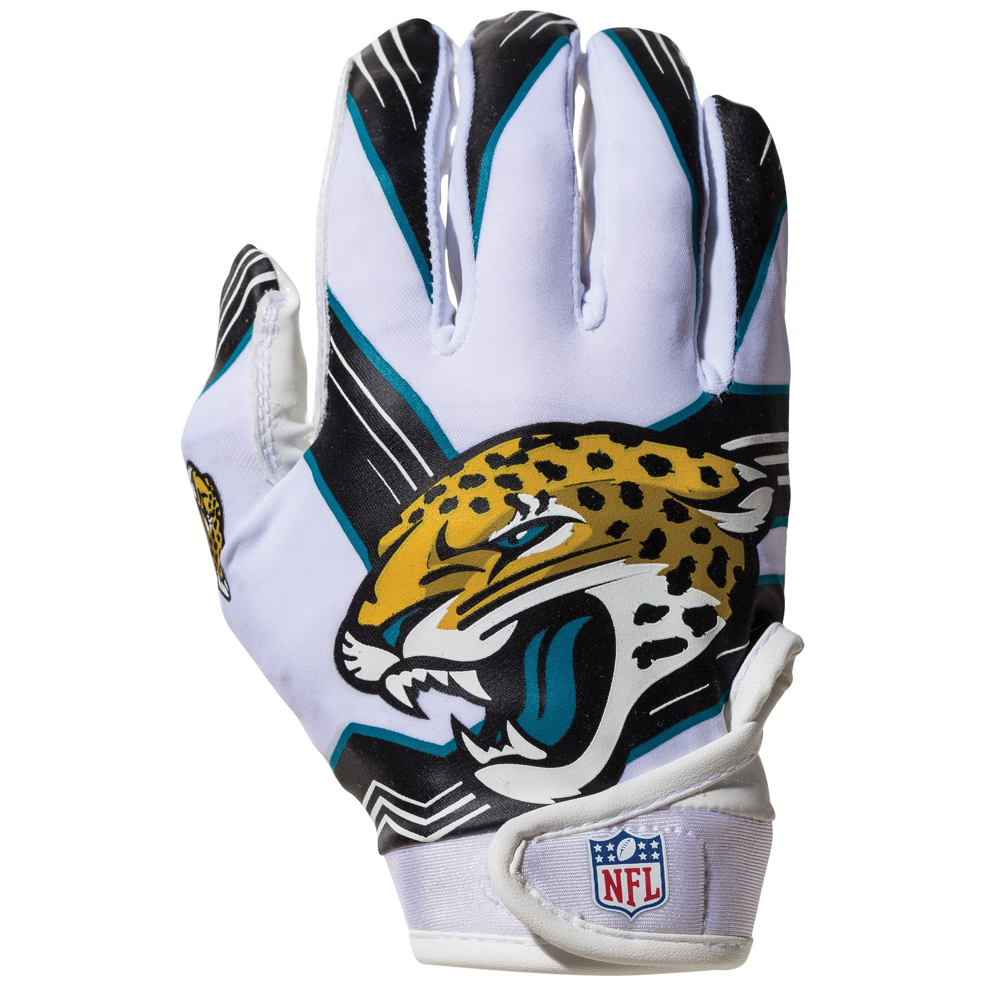 Jacksonville Jaguars Franklin Sports Youth Receiver Gloves