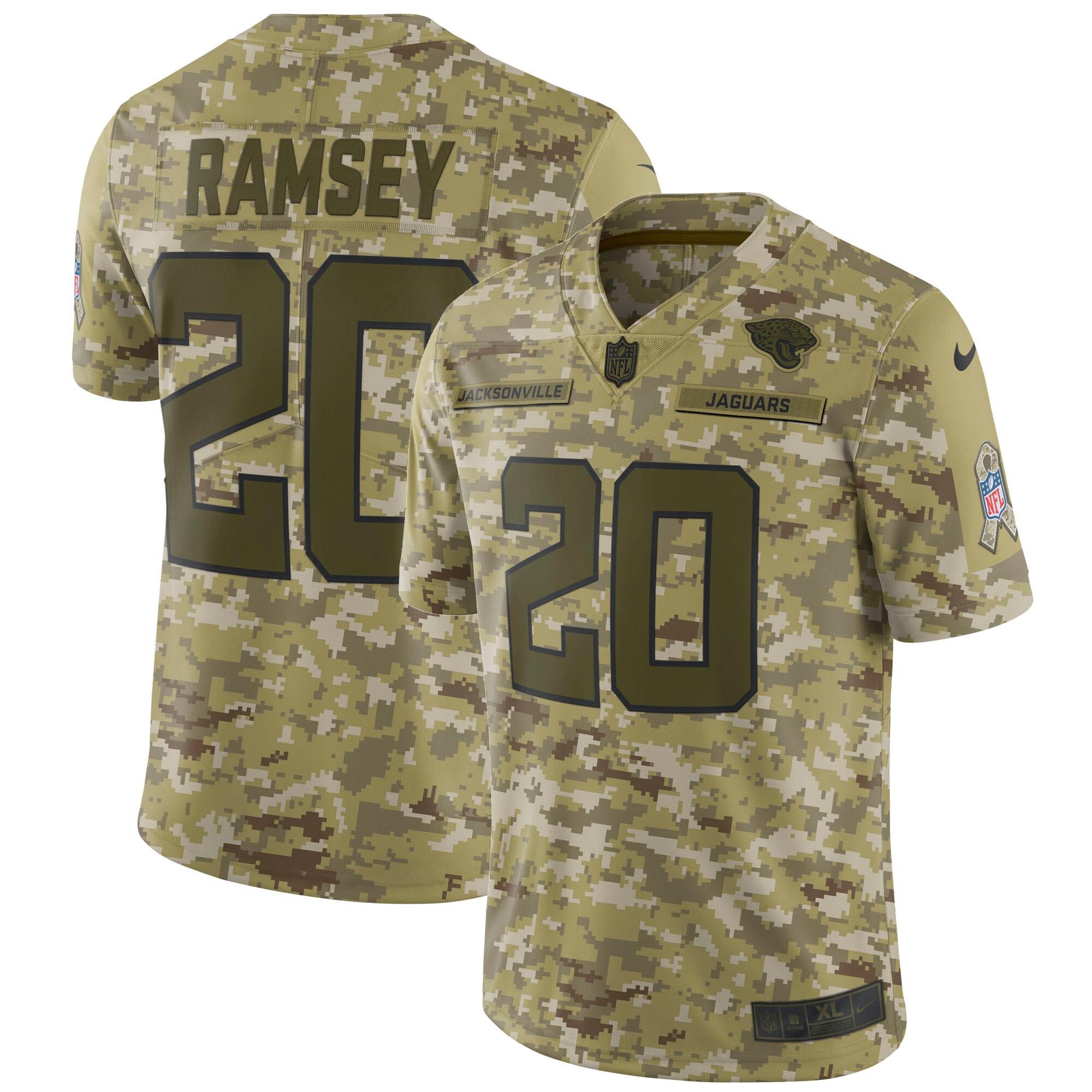 Jalen Ramsey Jacksonville Jaguars Nike Salute to Service Limited Jersey - Camo