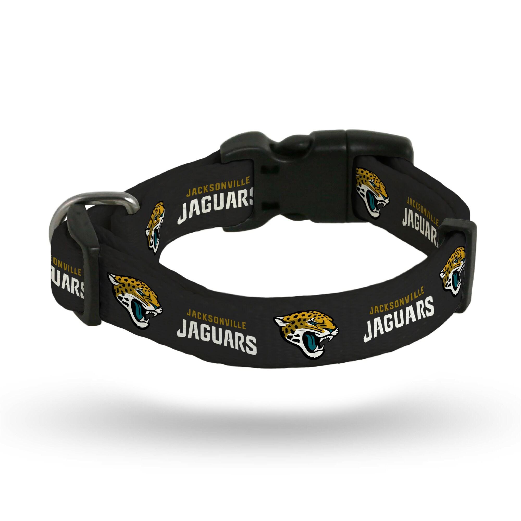 Jacksonville Jaguars Sparo Rugged Pet Collar