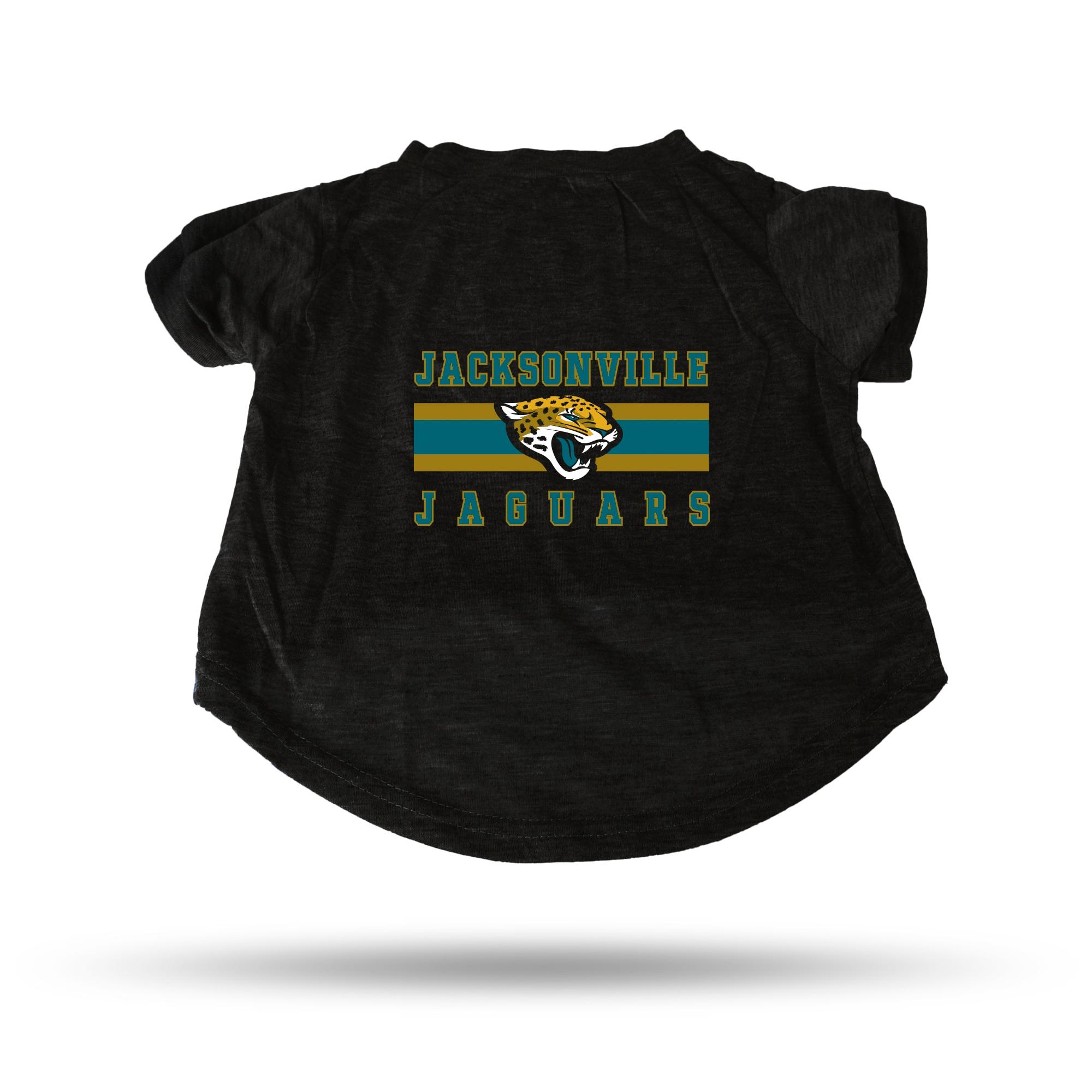 Jacksonville Jaguars Sparo Pet T-Shirt - Black