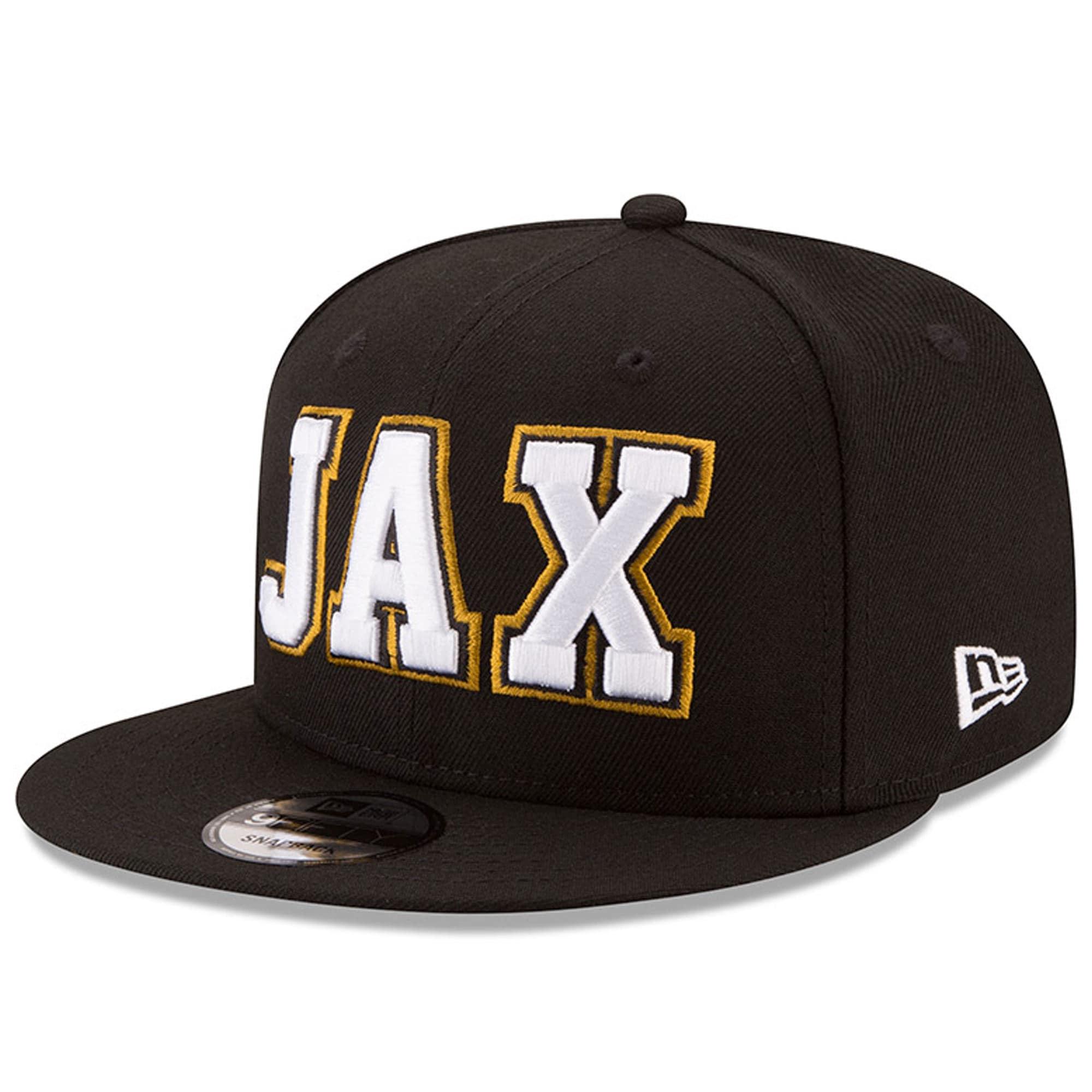 Jacksonville Jaguars New Era Home Turf 9FIFTY Adjustable Snapback Hat - Black