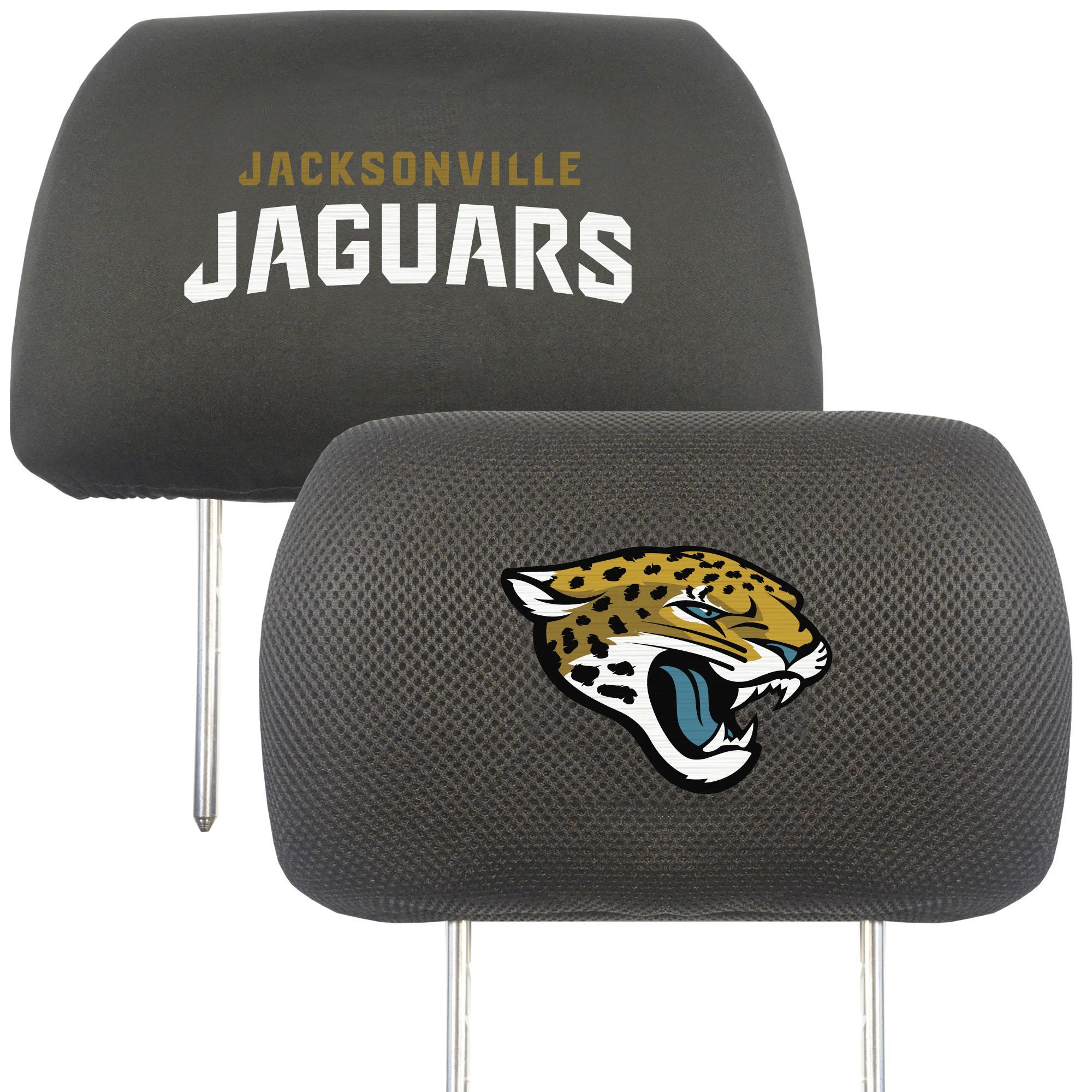 Jacksonville Jaguars Head Rest Cover