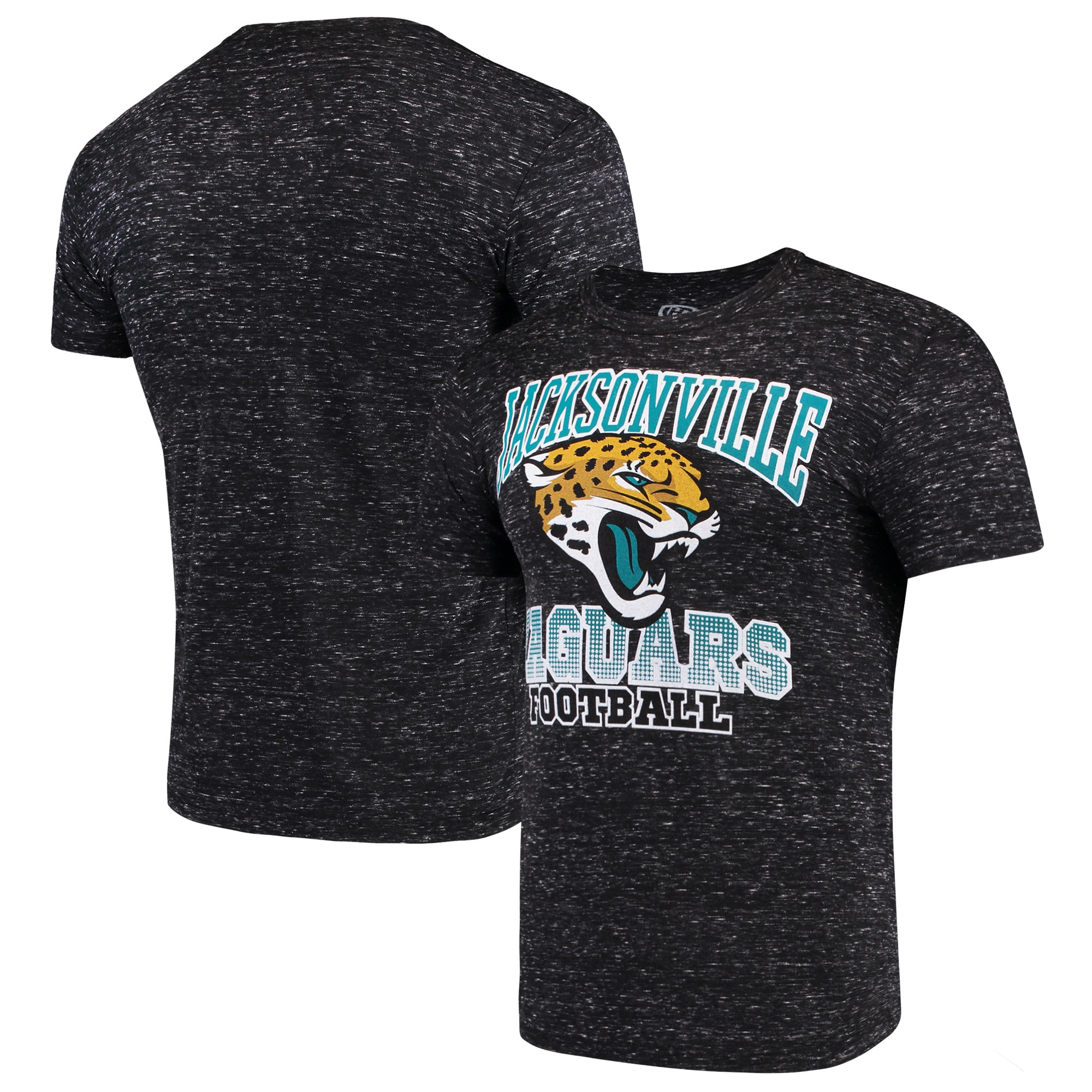 Jacksonville Jaguars G-III Sports by Carl Banks Outfield Speckle T-Shirt - Black