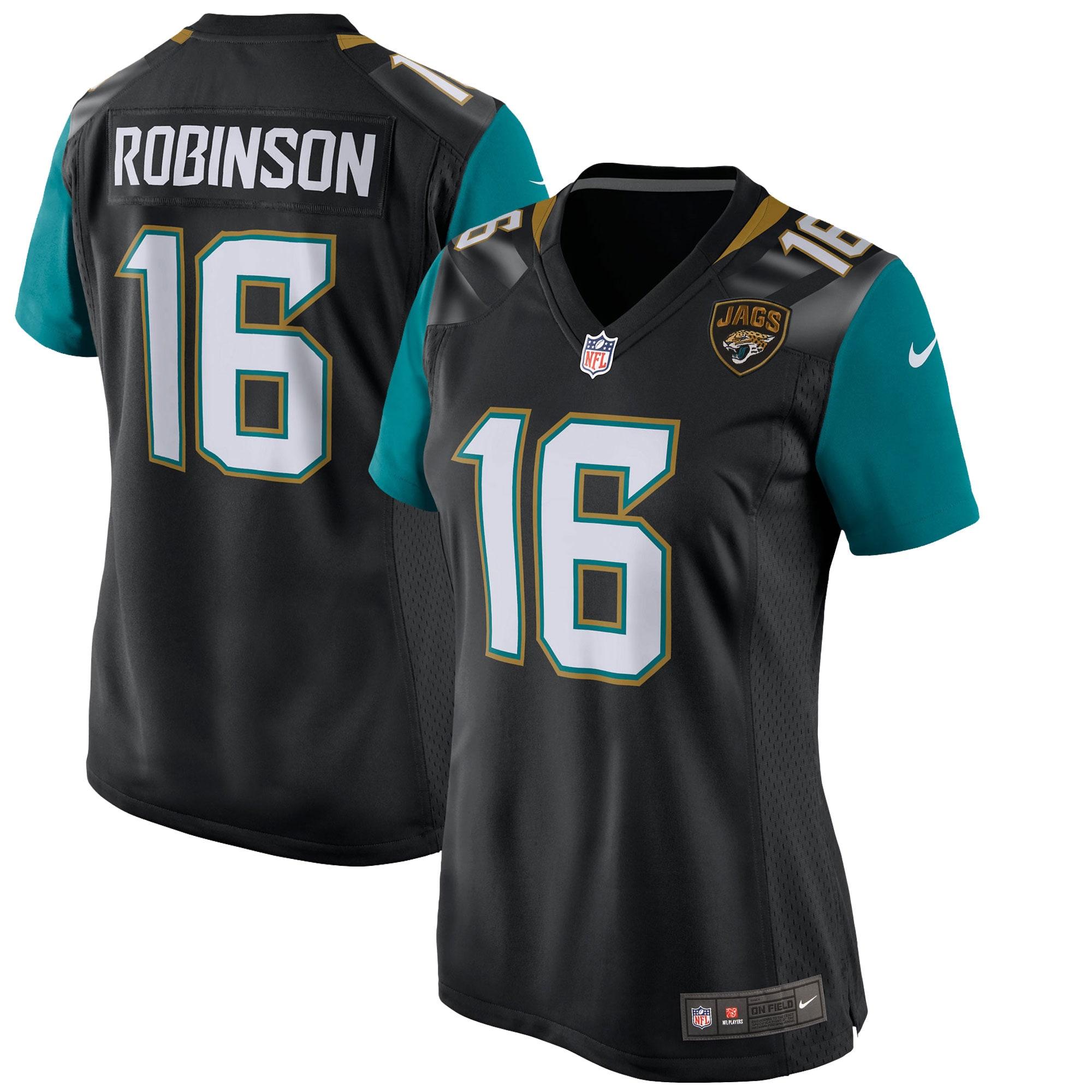 Denard Robinson Jacksonville Jaguars Nike Women's Game Jersey - Black
