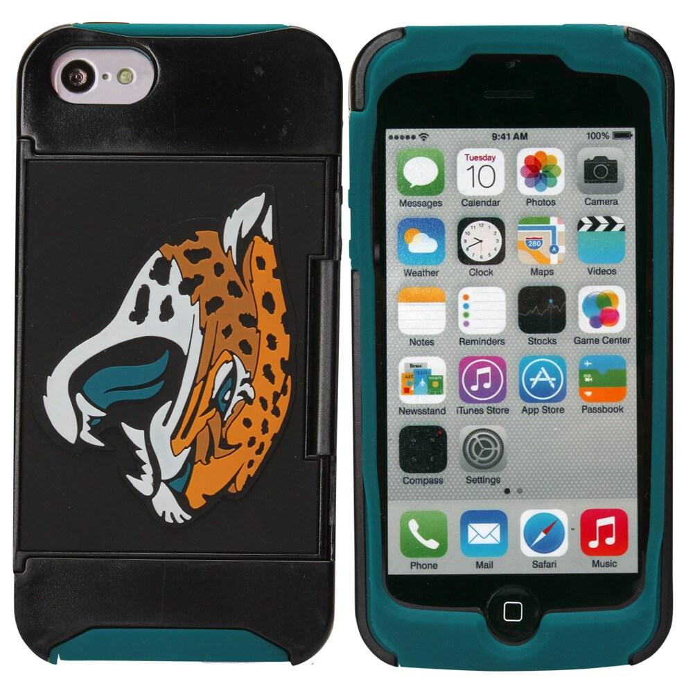 Jacksonville Jaguars iPhone 5 Credit Card Case