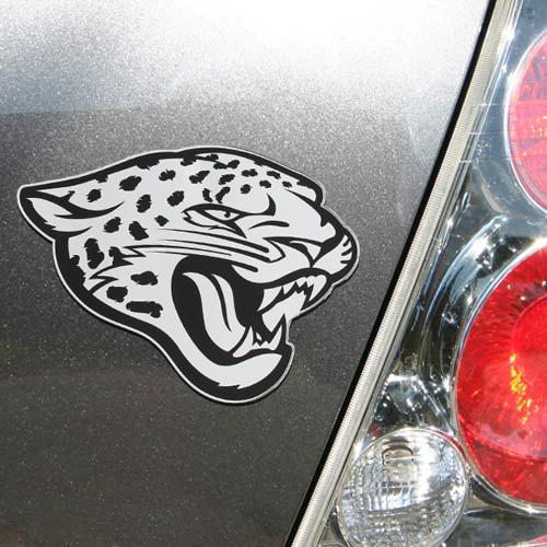 "Jacksonville Jaguars 3"" x 5"" Metallic Magnet"