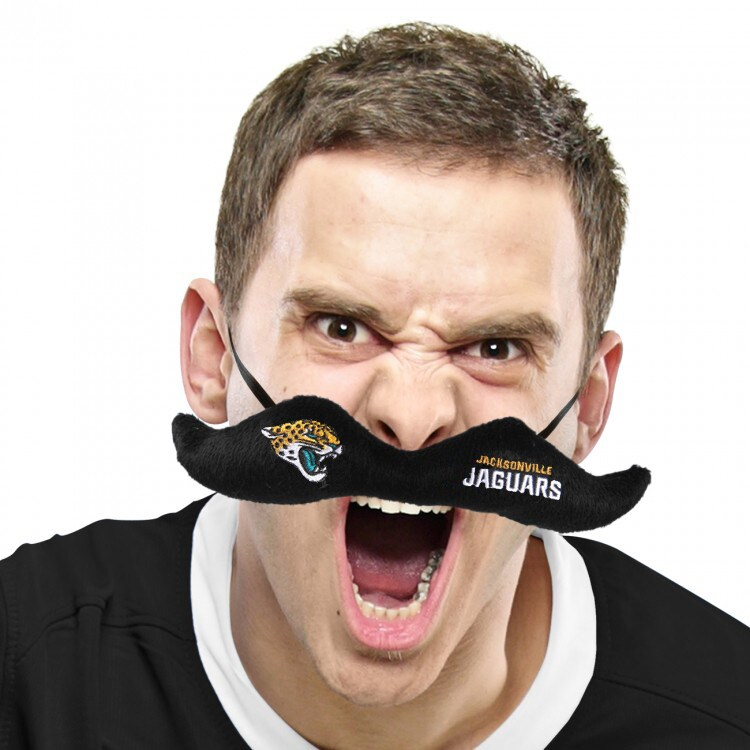 Jacksonville Jaguars Plush Mustache