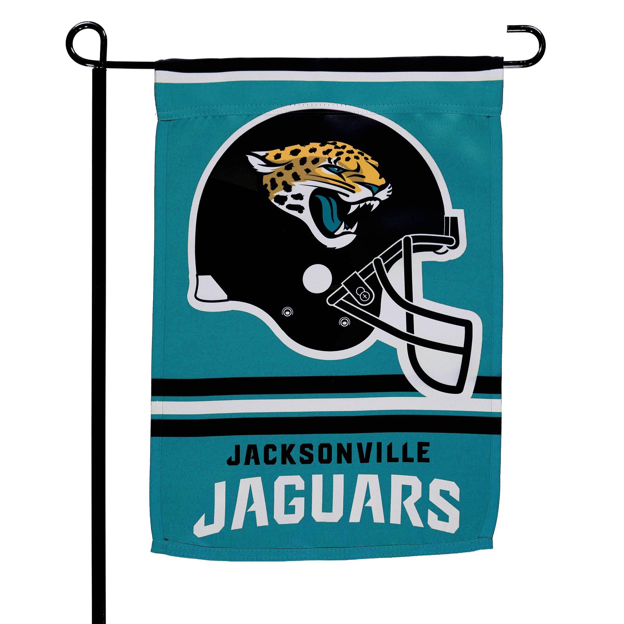 "Jacksonville Jaguars WinCraft 12"" x 18"" Double-Sided Garden Flag"