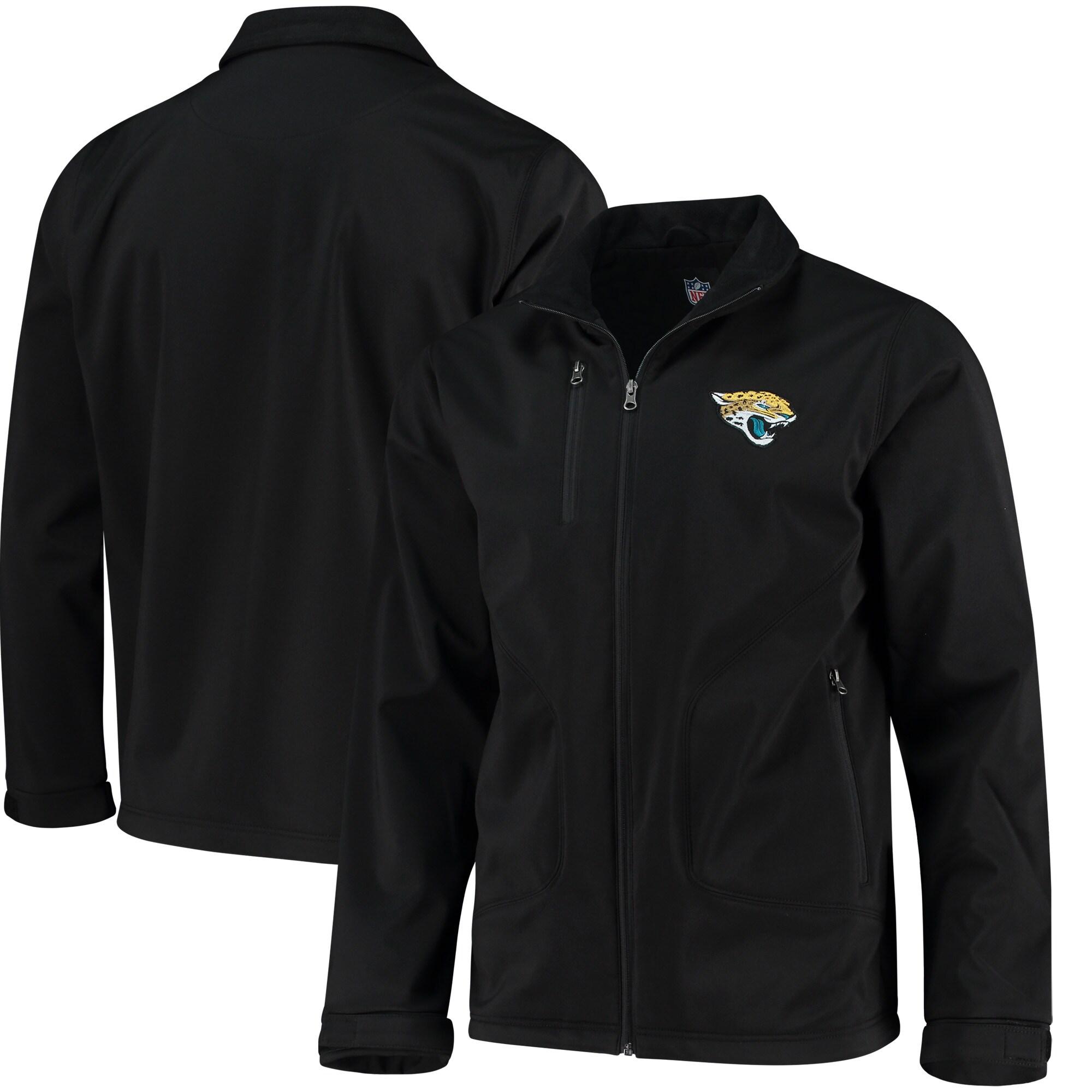Jacksonville Jaguars Hands High Strong Side Soft Shell Jacket - Black