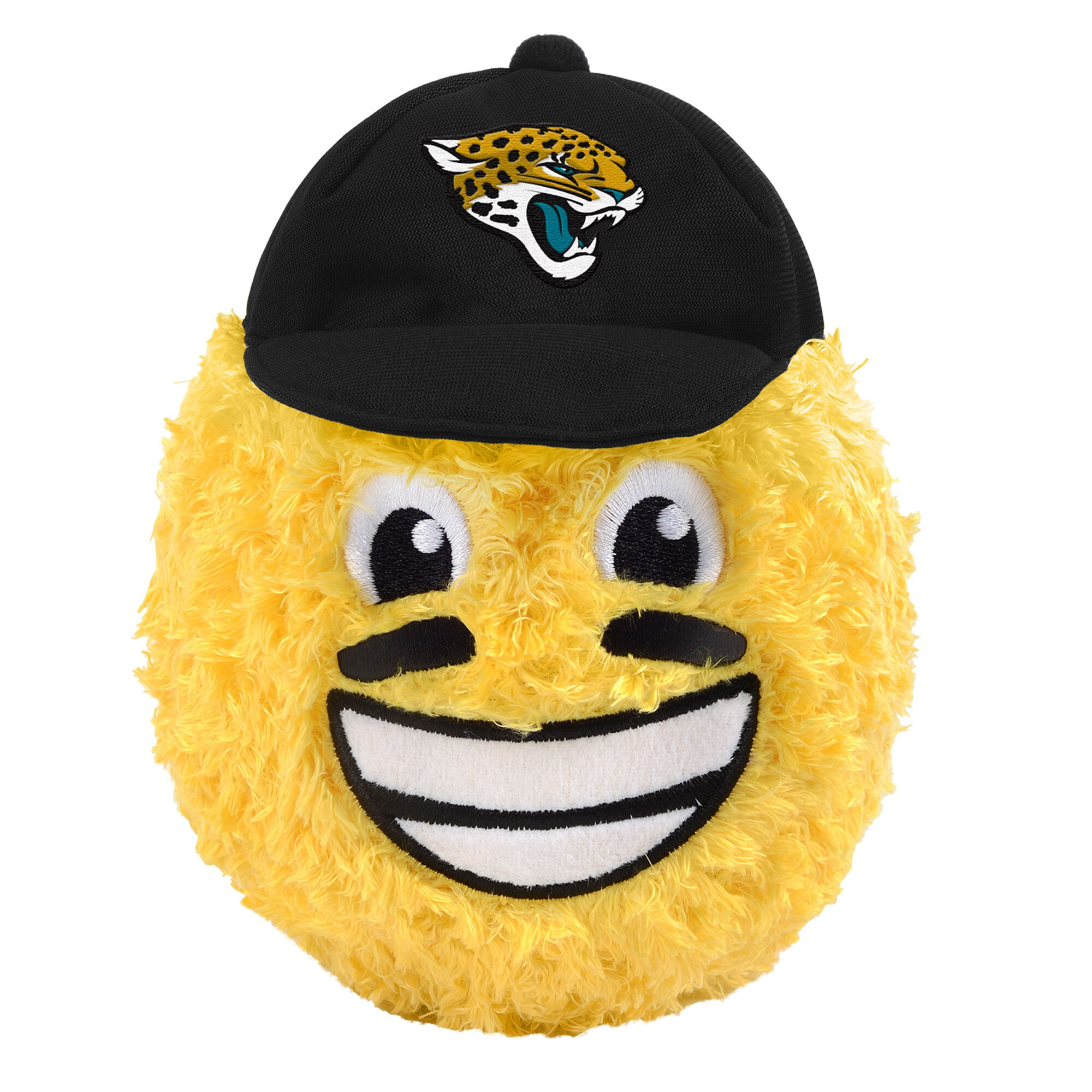 "Jacksonville Jaguars 5"" Eye Black Teamoji Plush Toy"