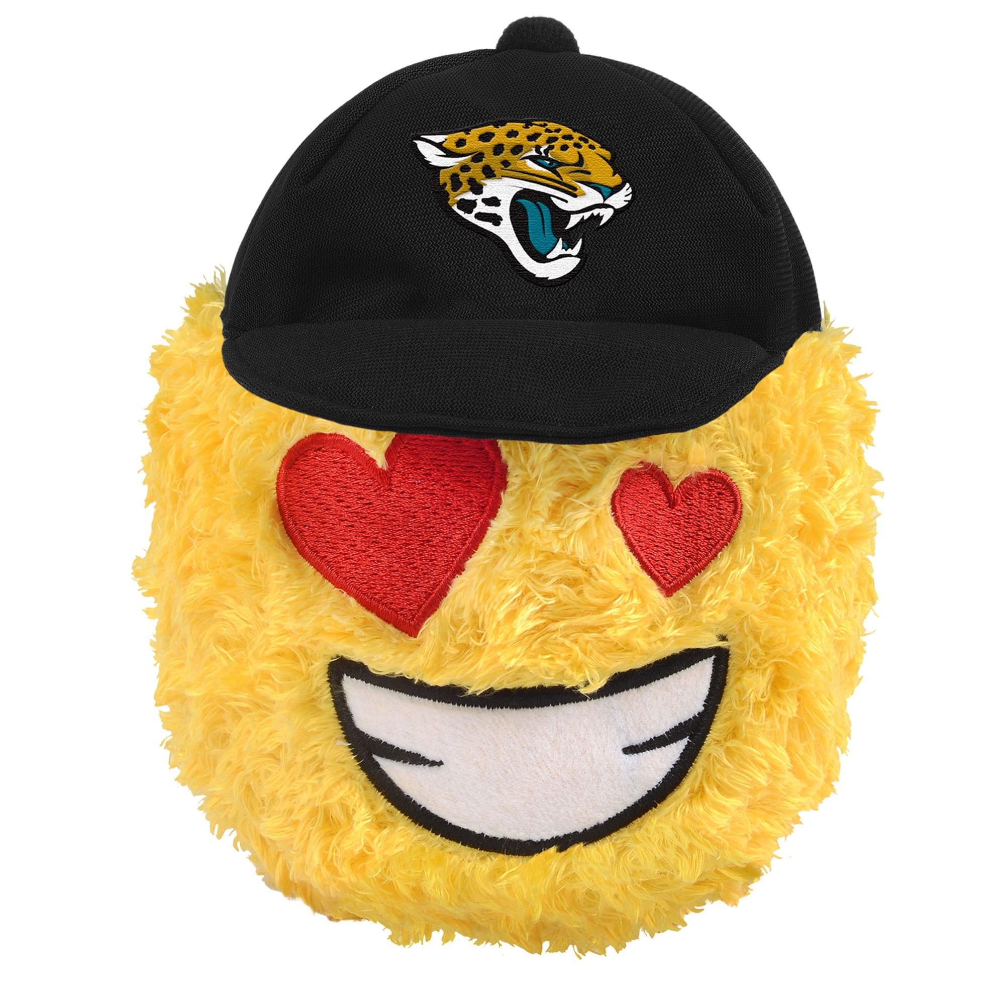 "Jacksonville Jaguars 5"" Heart Eyes Teamoji Plush Toy"