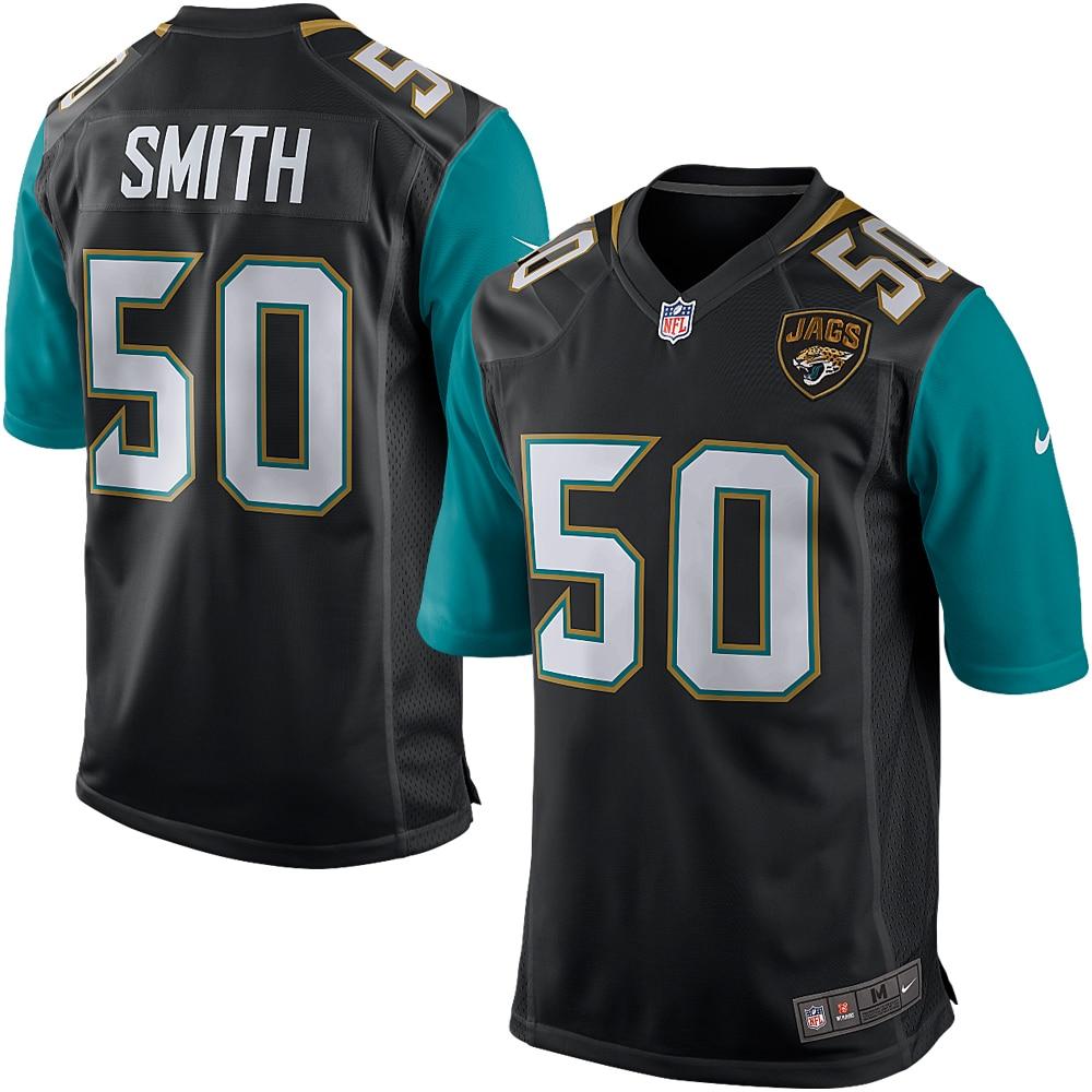 Telvin Smith Jacksonville Jaguars Black Nike Game Jersey