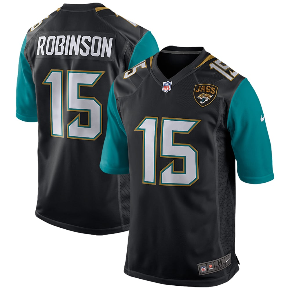 Allen Robinson Jacksonville Jaguars Nike Youth Team Color Game Jersey - Black