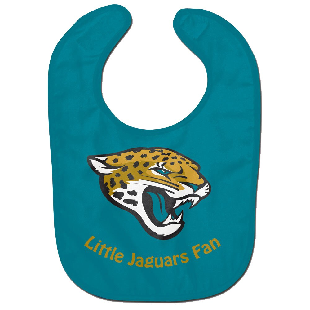 Jacksonville Jaguars WinCraft Infant Lil Fan All Pro Baby Bib - Teal