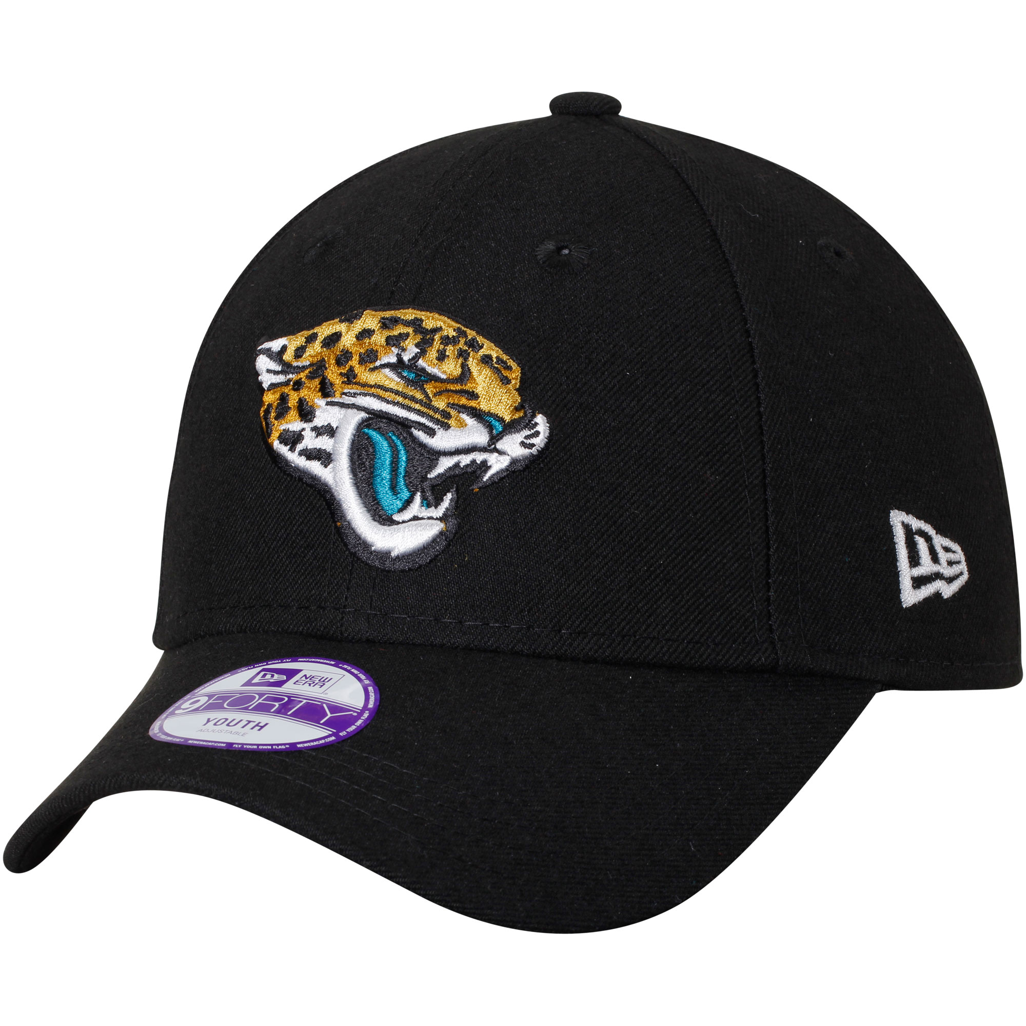 Jacksonville Jaguars New Era Youth League 9FORTY Adjustable Hat - Black