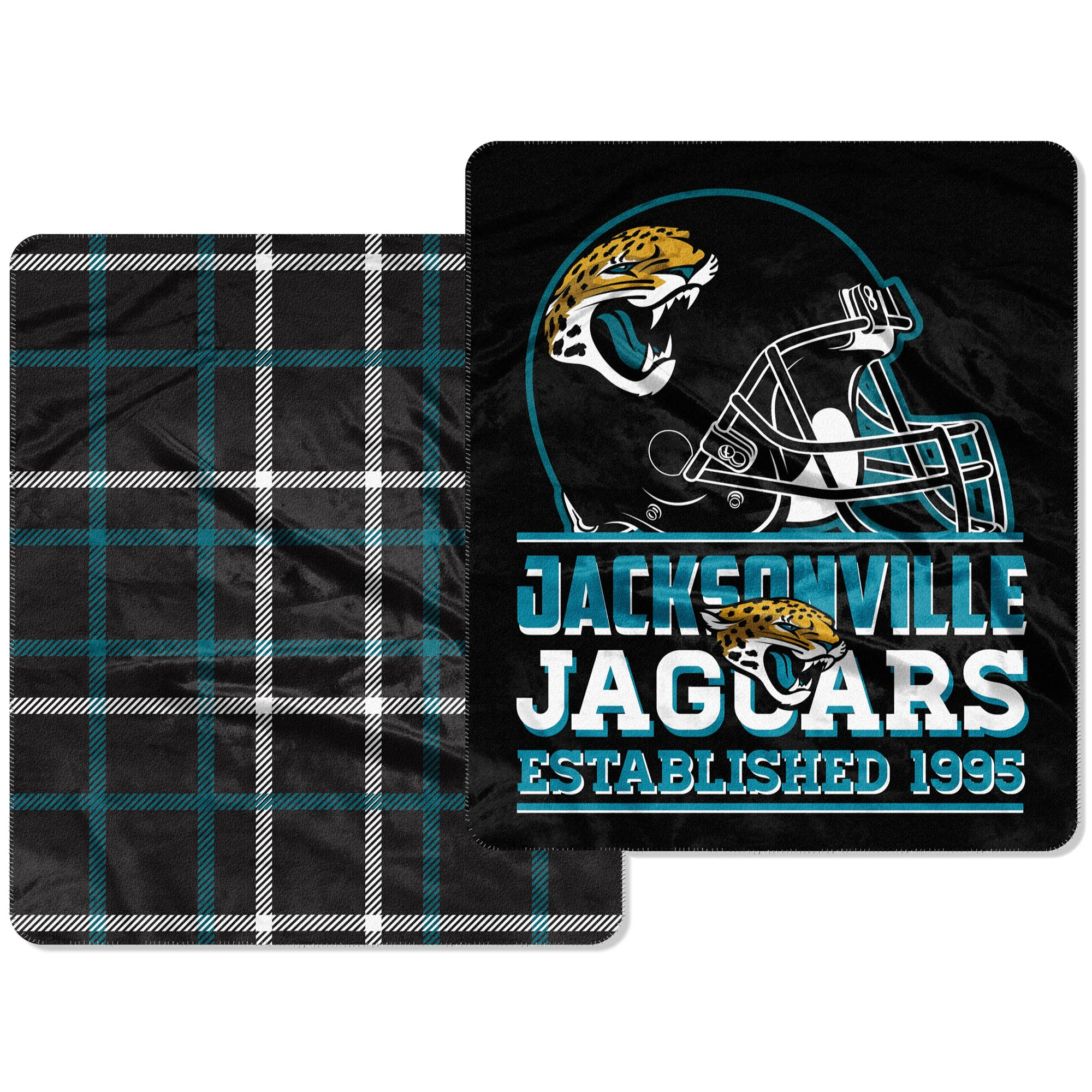 Jacksonville Jaguars The Northwest Company Home Field Cloud 60'' x 70'' Double-Sided Plush Throw Blanket