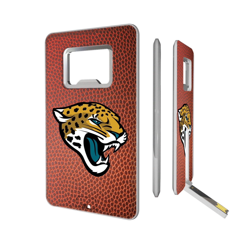 Jacksonville Jaguars Football Credit Card USB Drive & Bottle Opener