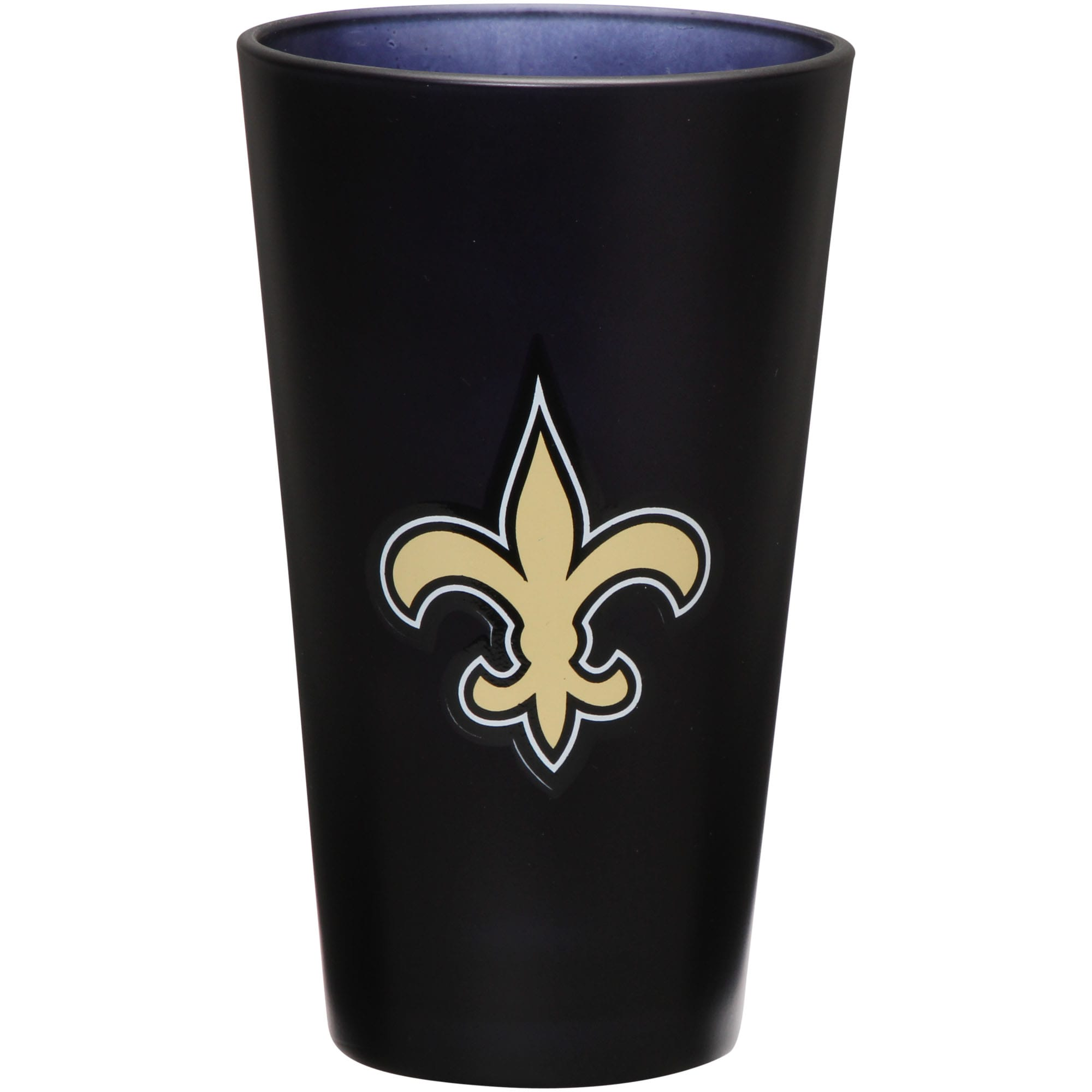 New Orleans Saints 16 oz. Team Color Frosted Pint Glass