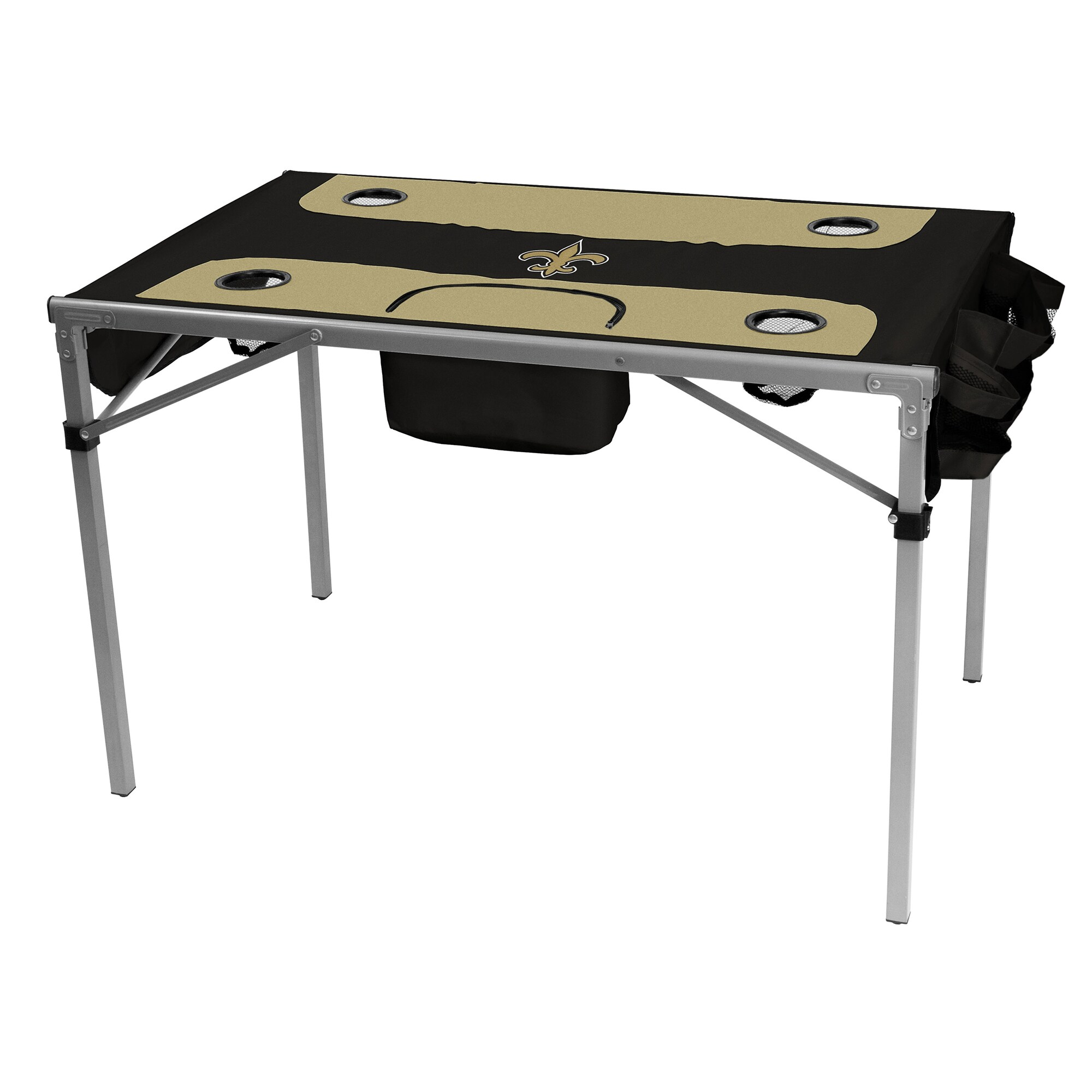 "New Orleans Saints 42"" x 27"" x 28"" Total Tailgate Table"