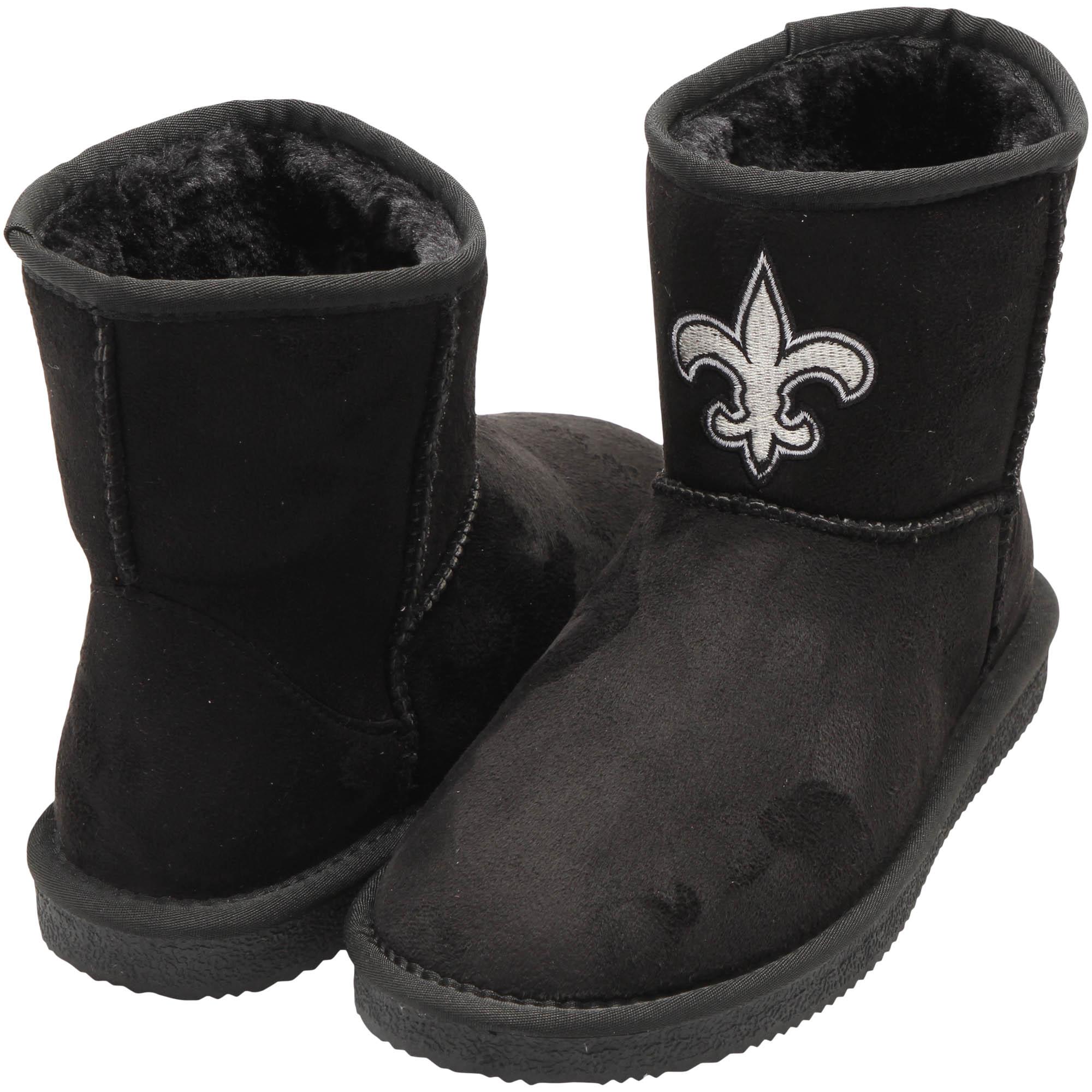 New Orleans Saints Cuce Women's The Rookie Mini Boots - Black