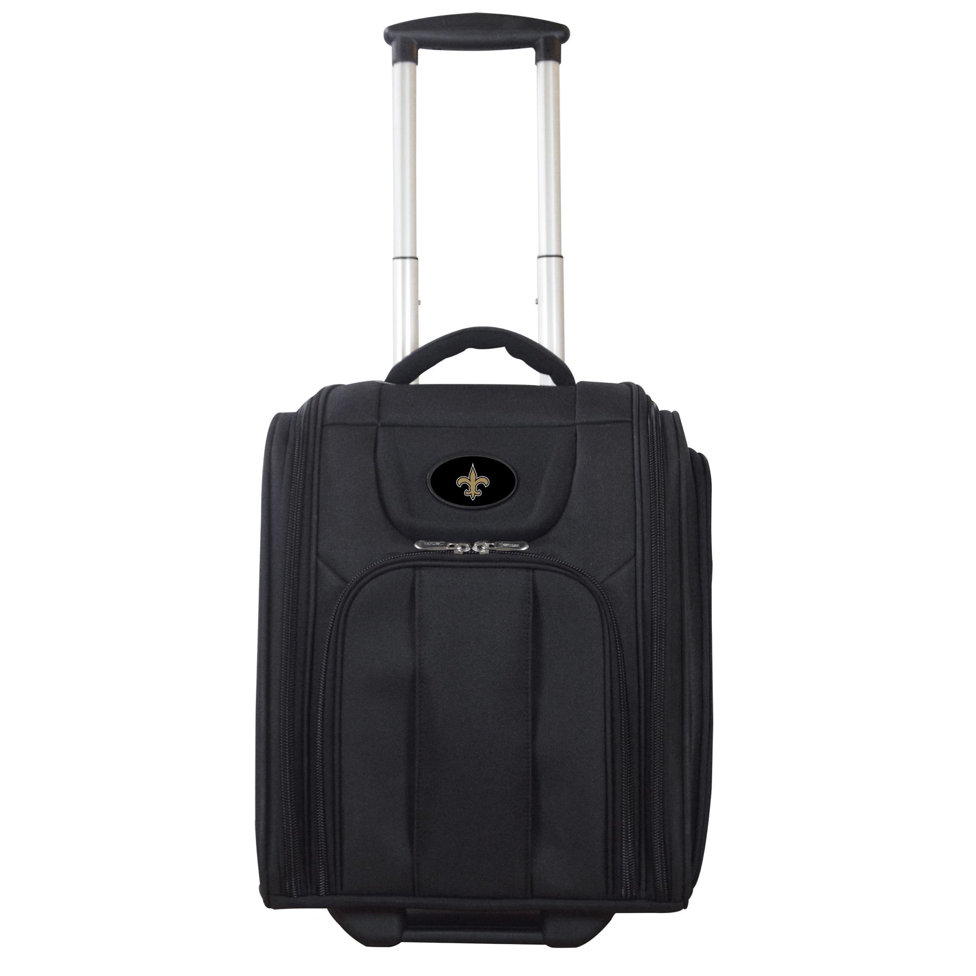 """New Orleans Saints 16"""" Business Tote Laptop Bag - Black"""