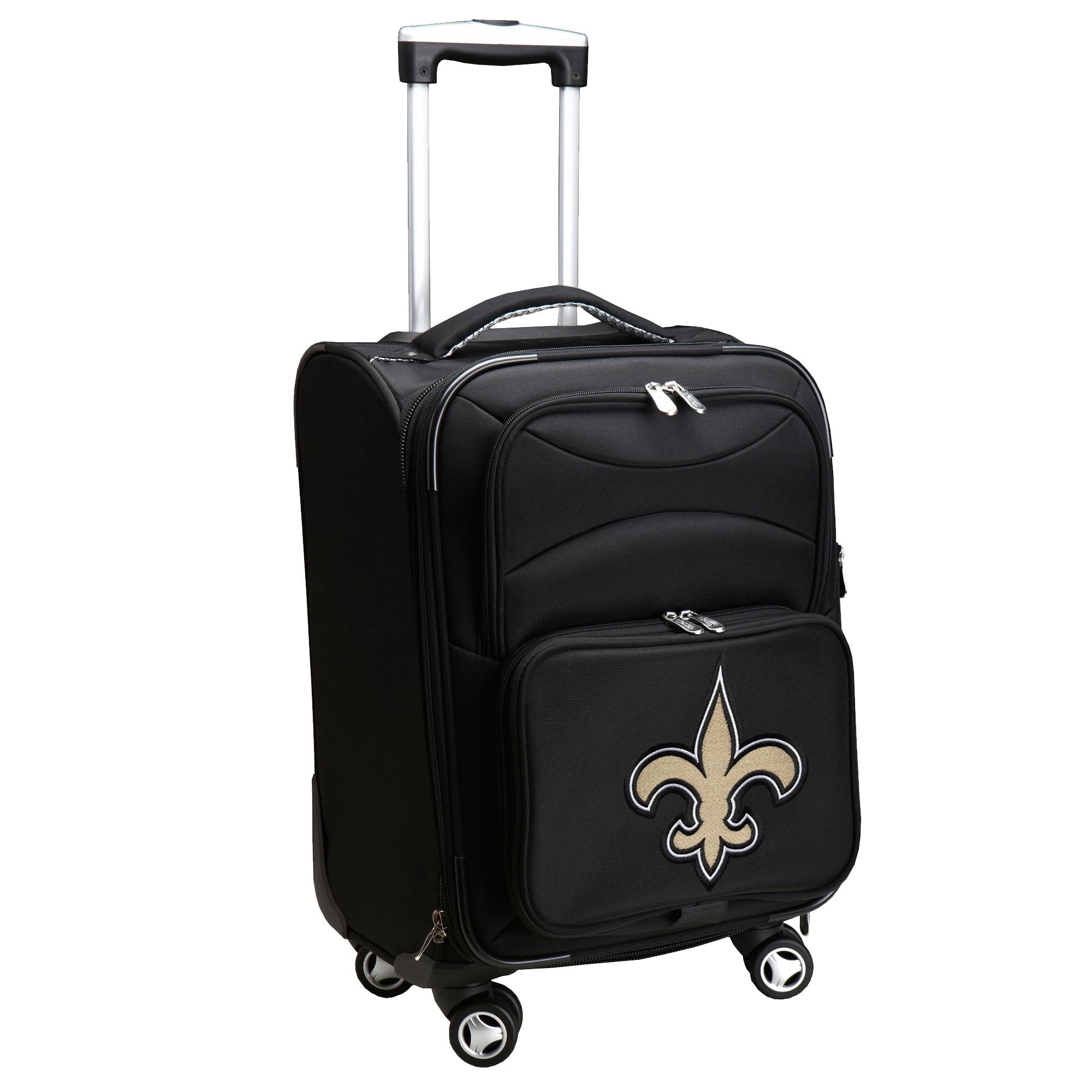 "New Orleans Saints 21"" Spinner Carry-On - Black"