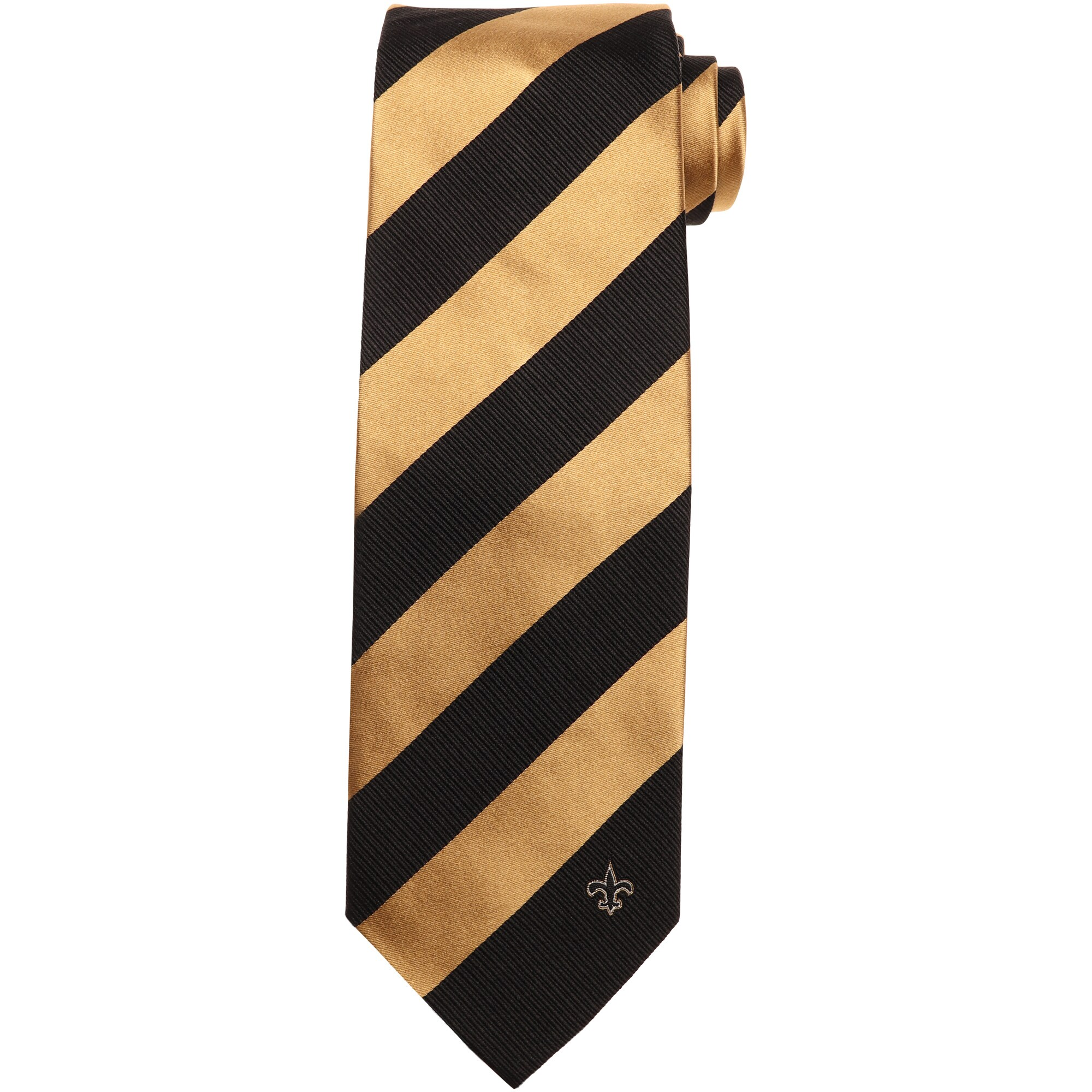 New Orleans Saints Regiment Woven Silk Tie