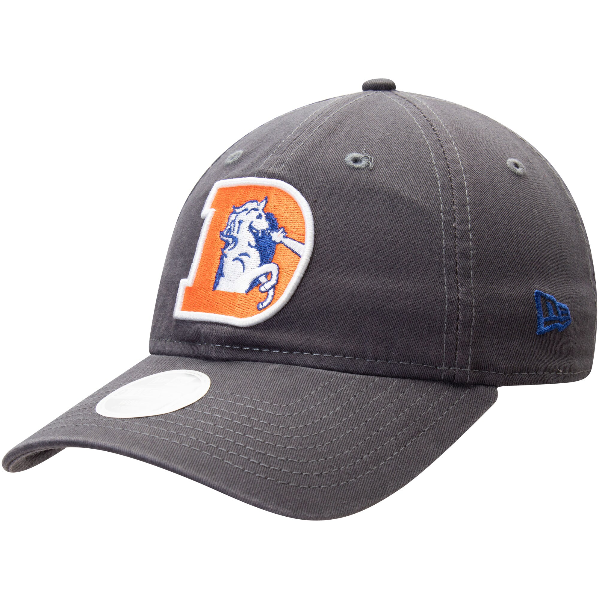 Denver Broncos New Era Women's Team Core Classic 9TWENTY Adjustable Hat - Graphite