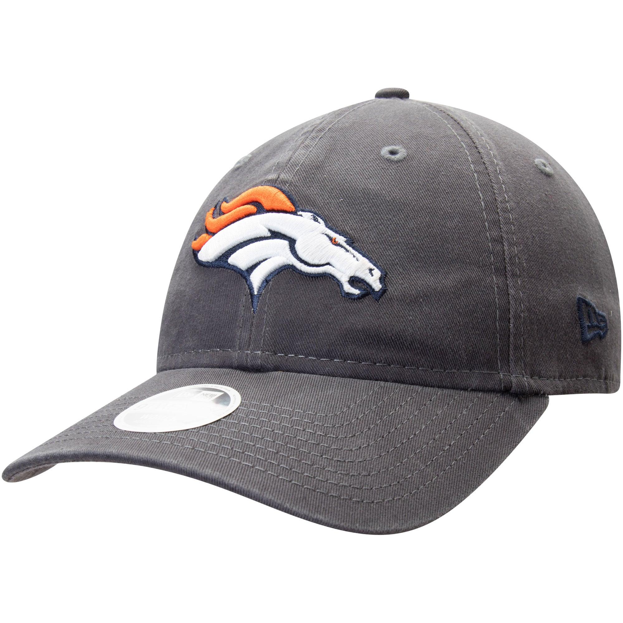 Denver Broncos New Era Women's Team Logo Core Classic 9TWENTY Adjustable Hat - Graphite