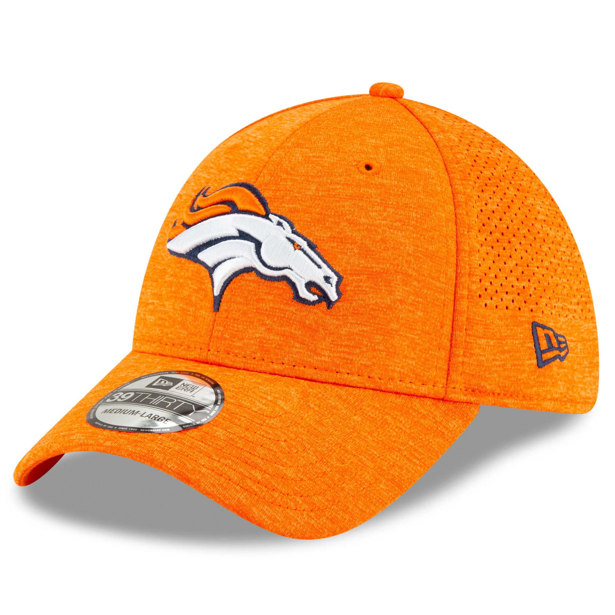 Denver Broncos New Era STH Perf 39THIRTY Flex Hat - Orange
