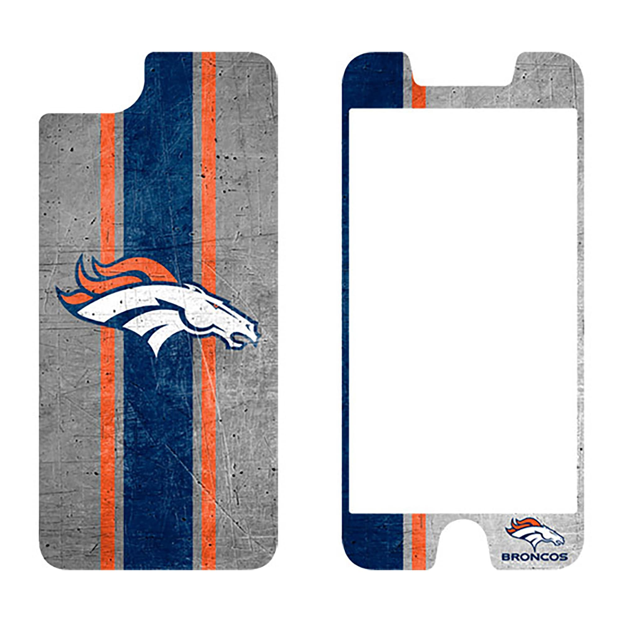 Denver Broncos OtterBox iPhone 8/7/6/6s Alpha Glass Screen Protector