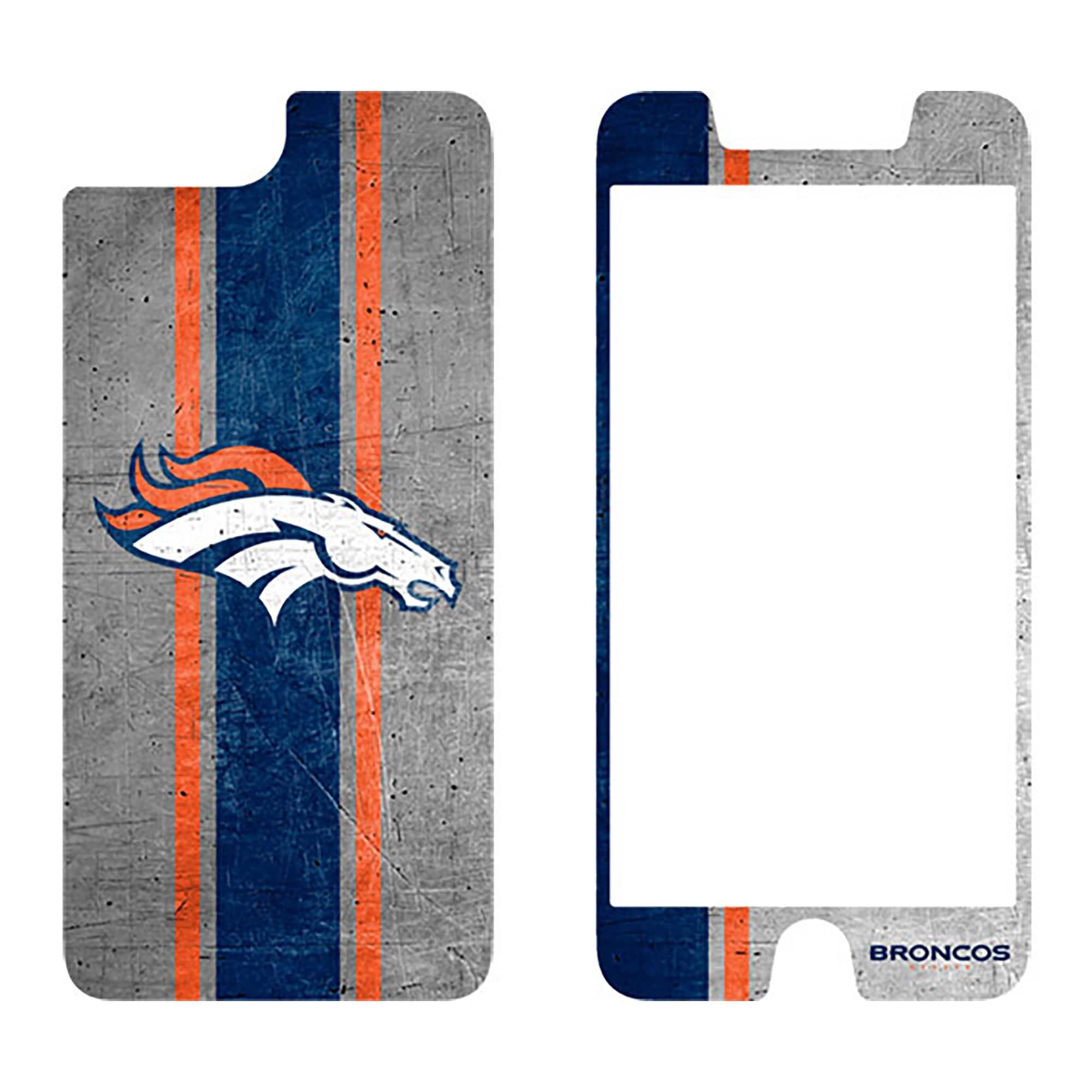 Denver Broncos OtterBox iPhone 8 Plus/7 Plus/6 Plus/6s Plus Alpha Glass Screen Protector